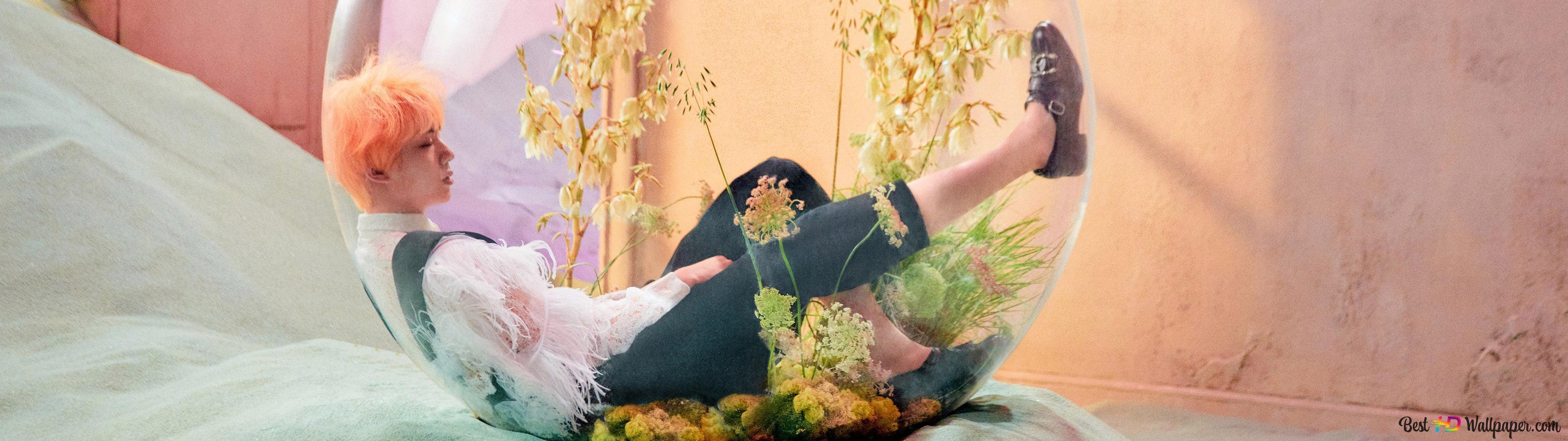 bts jin in love yourself answer mv wallpaper 3840x1080 53625 75