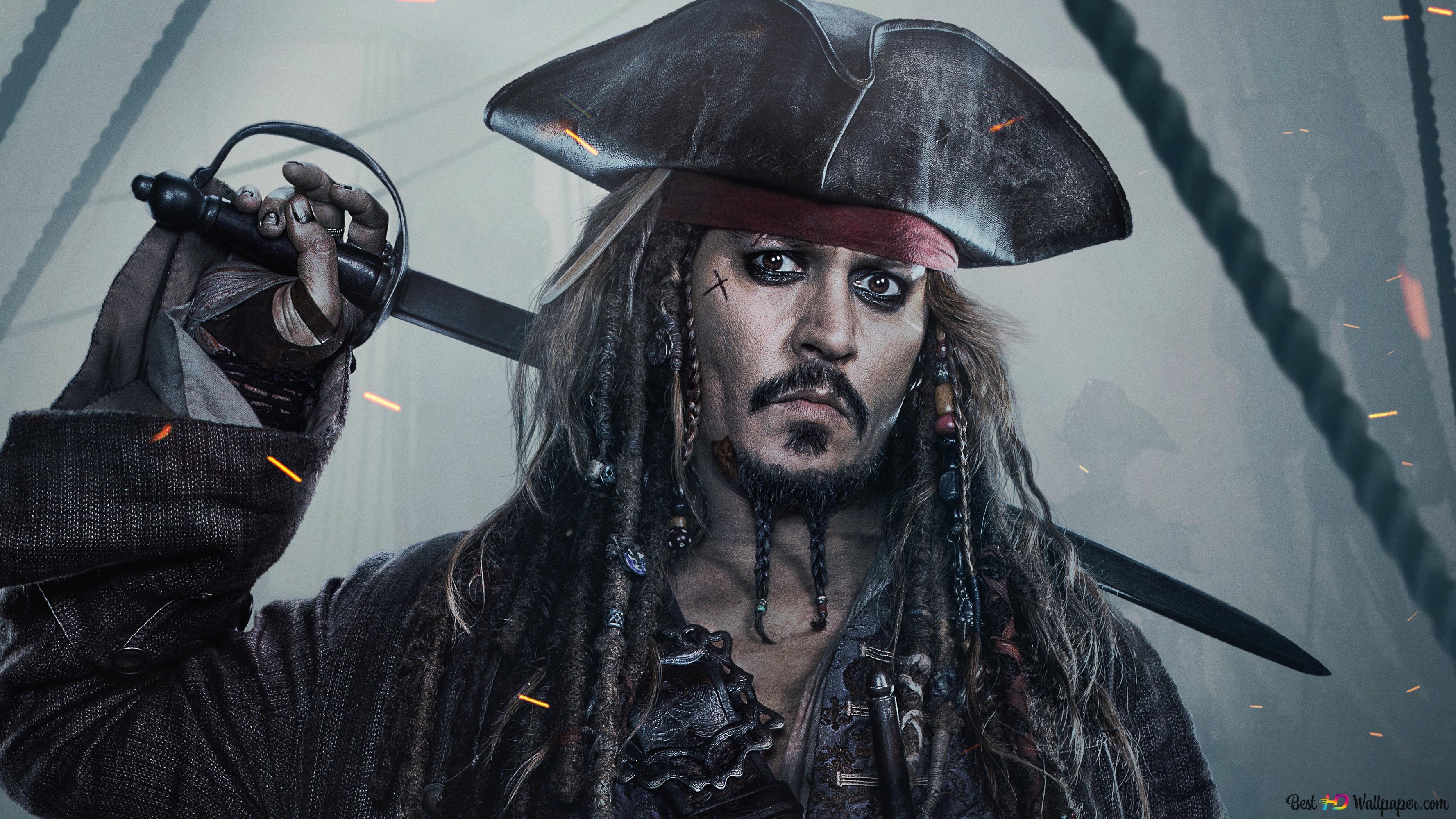 大尉ジャック スパロウ カリブの海賊v Hd壁紙のダウンロード