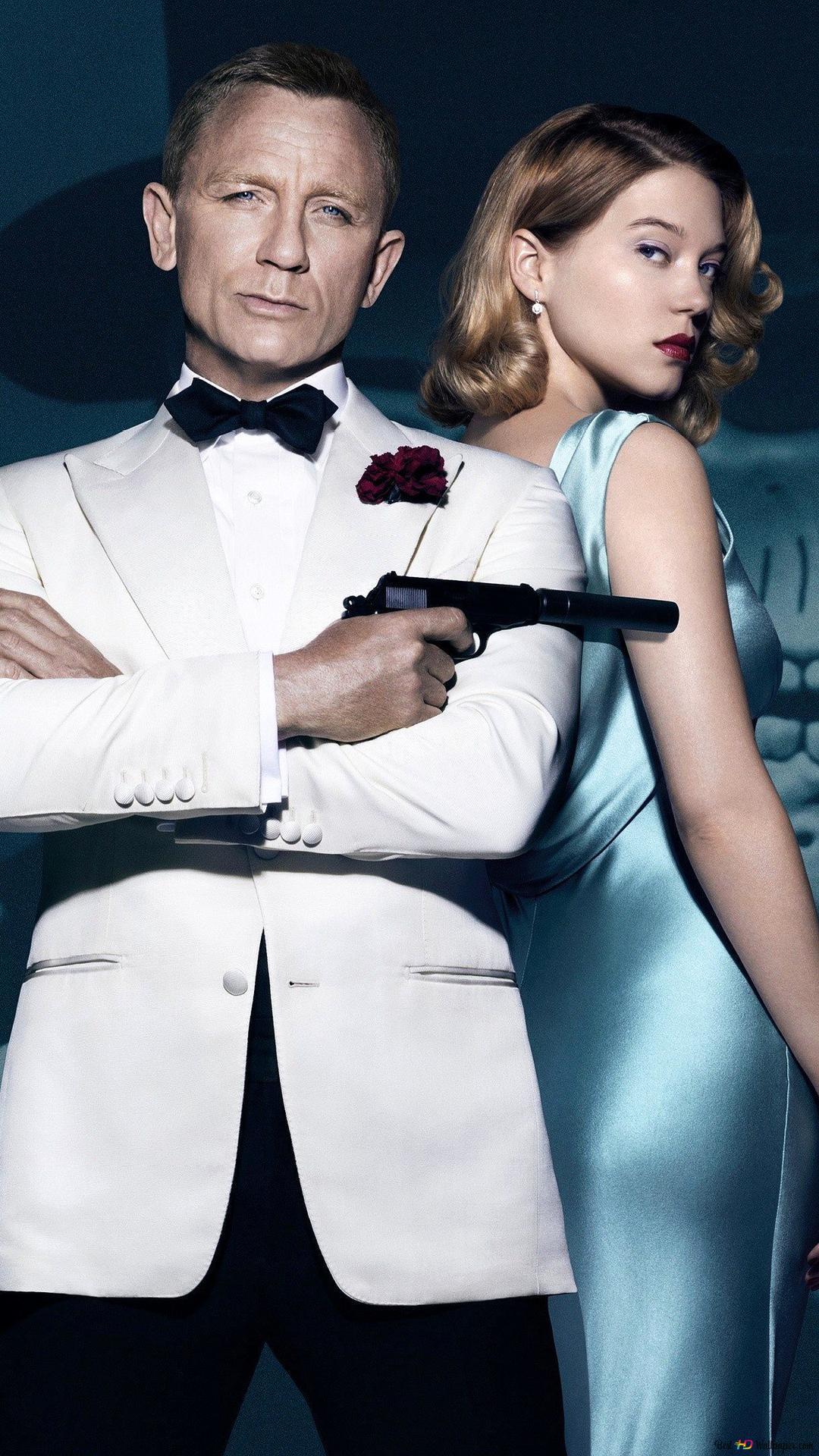 007 頭蓋骨と女 Hd壁紙のダウンロード