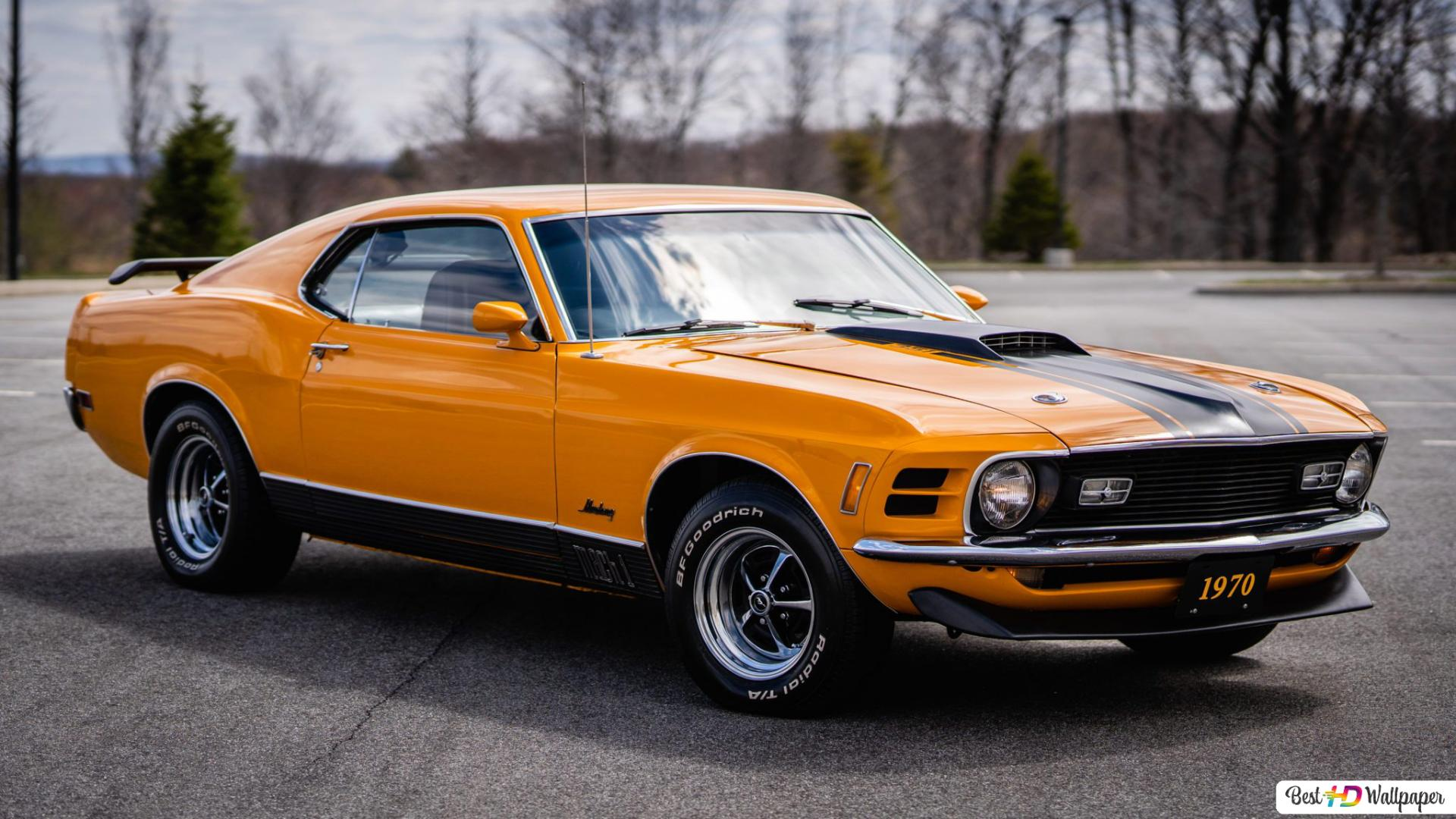 1970 Ford Mustang Mach 1 03 Hd Wallpaper Download