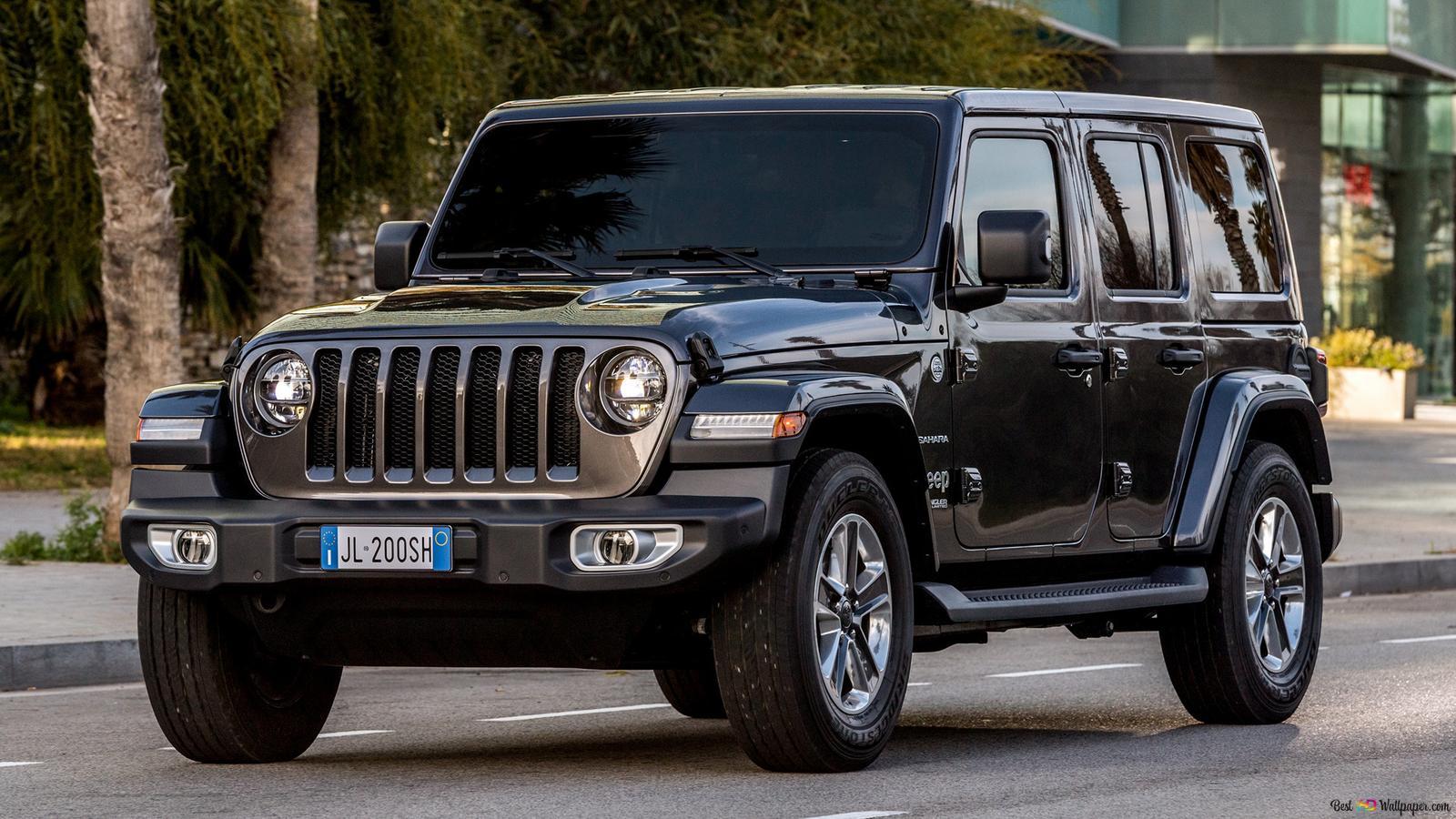 Descargar Fondo De Pantalla 2018 Jeep Wrangler Unlimited Sahara 01 Hd