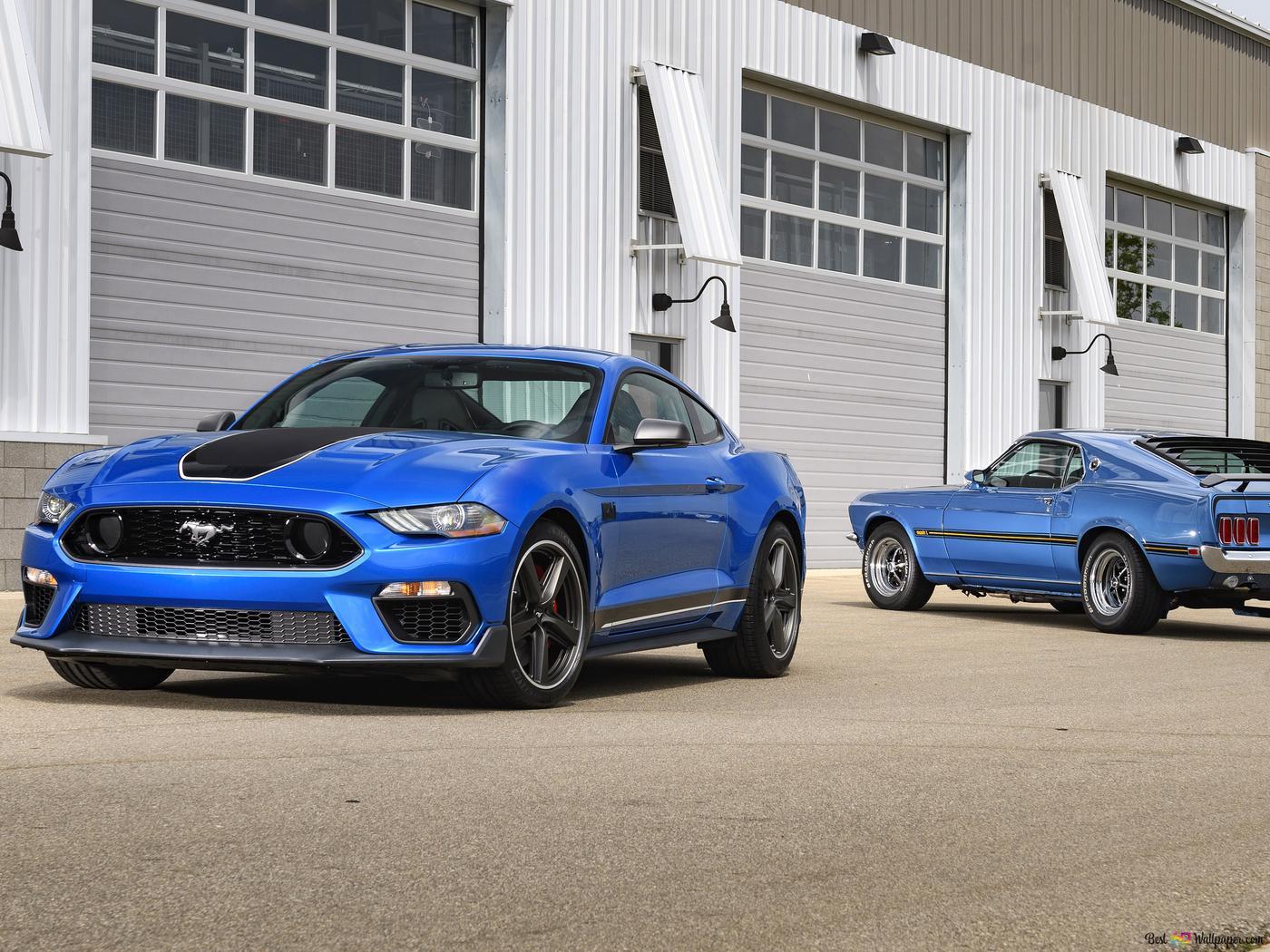 2021 Ford Mustang Mach 1 01 Unduhan Wallpaper Hd