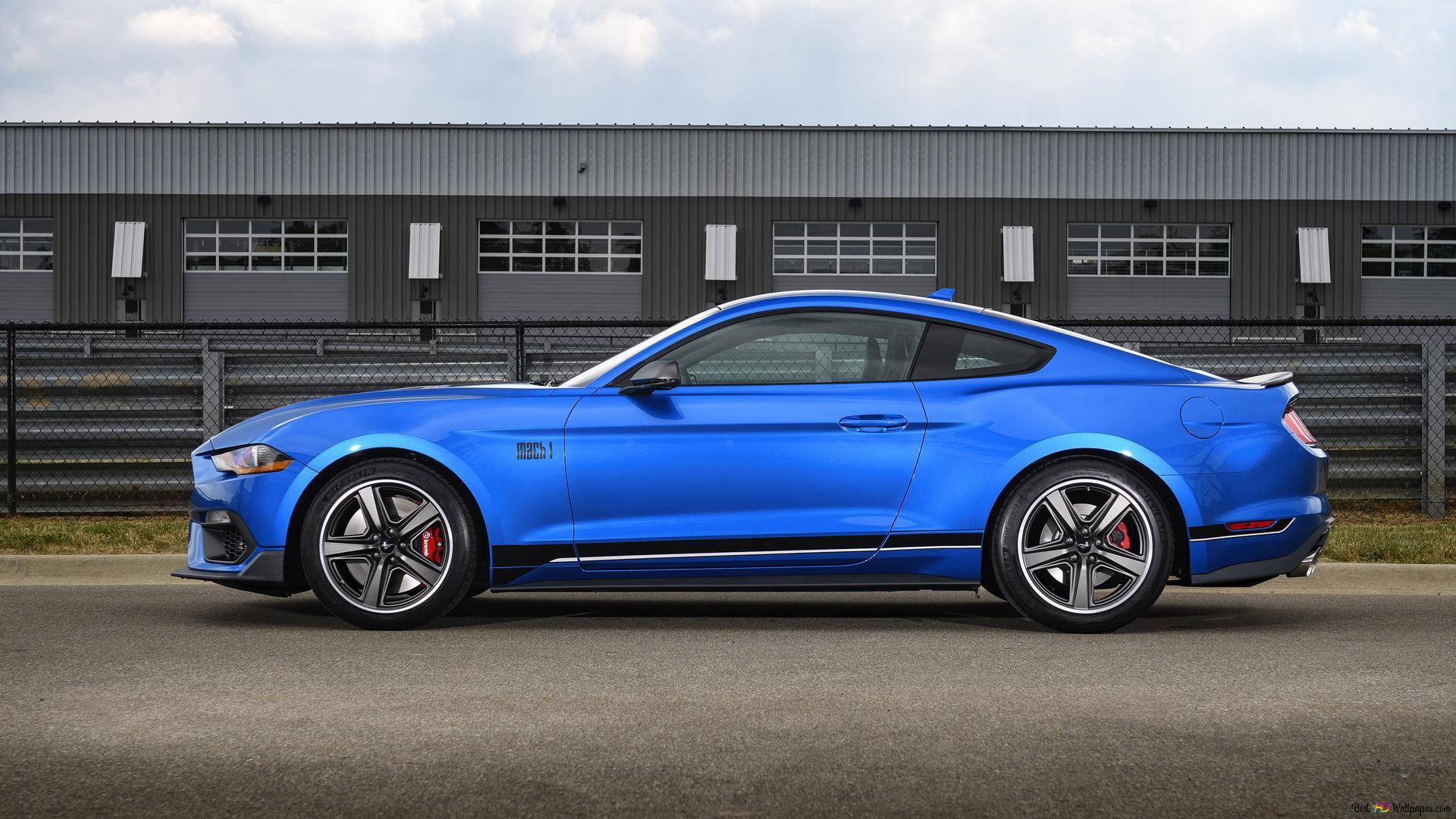 2021 Ford Mustang Mach 1 03 Unduhan Wallpaper Hd