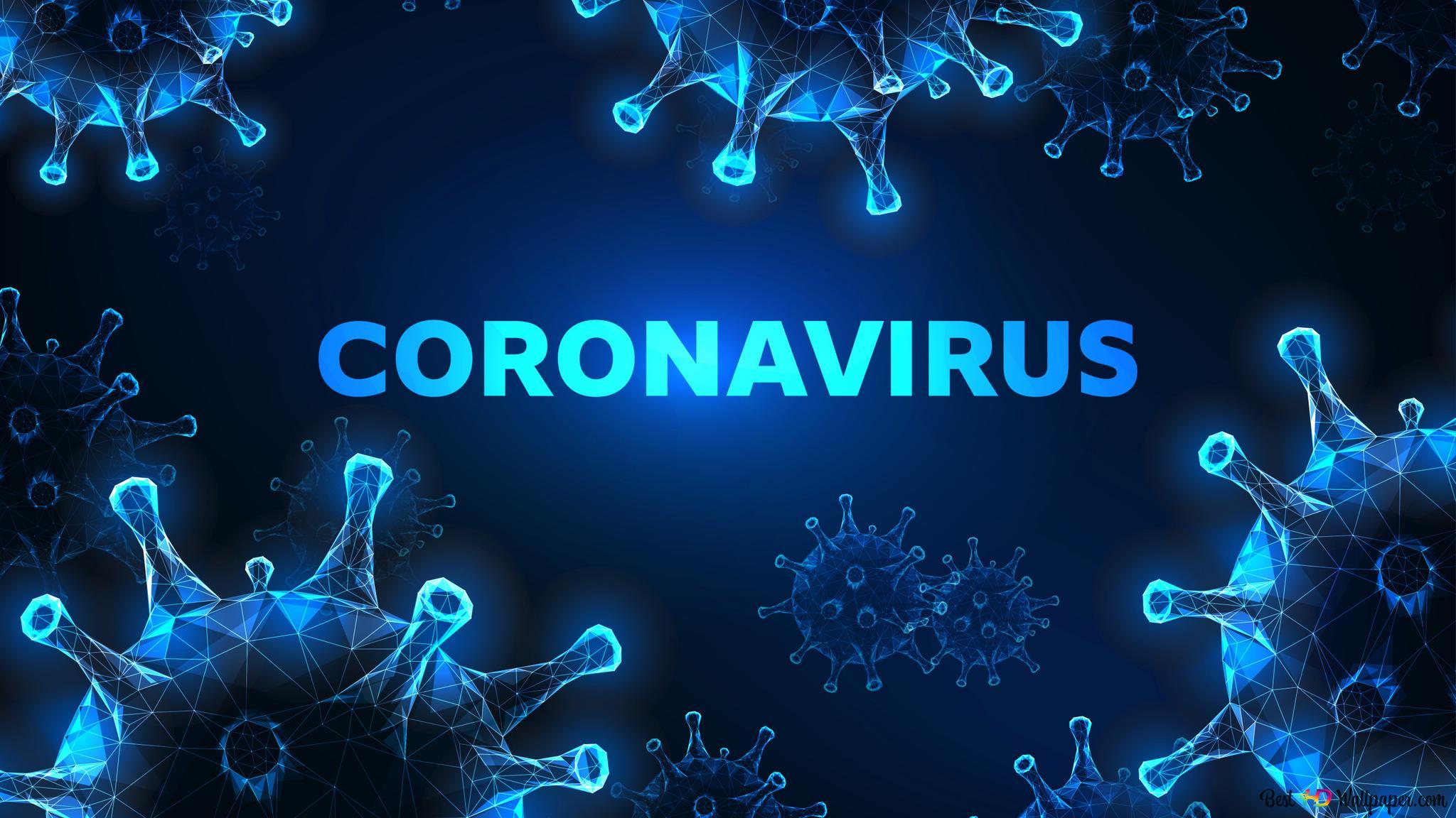 3d Coronavirus HD Wallpaper