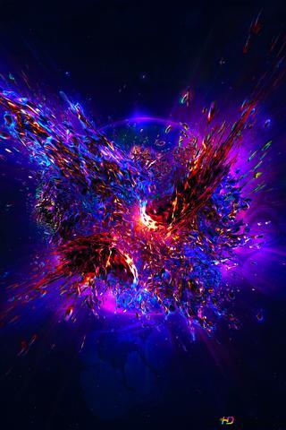 3d Explosion Splash Hd Wallpaper Download