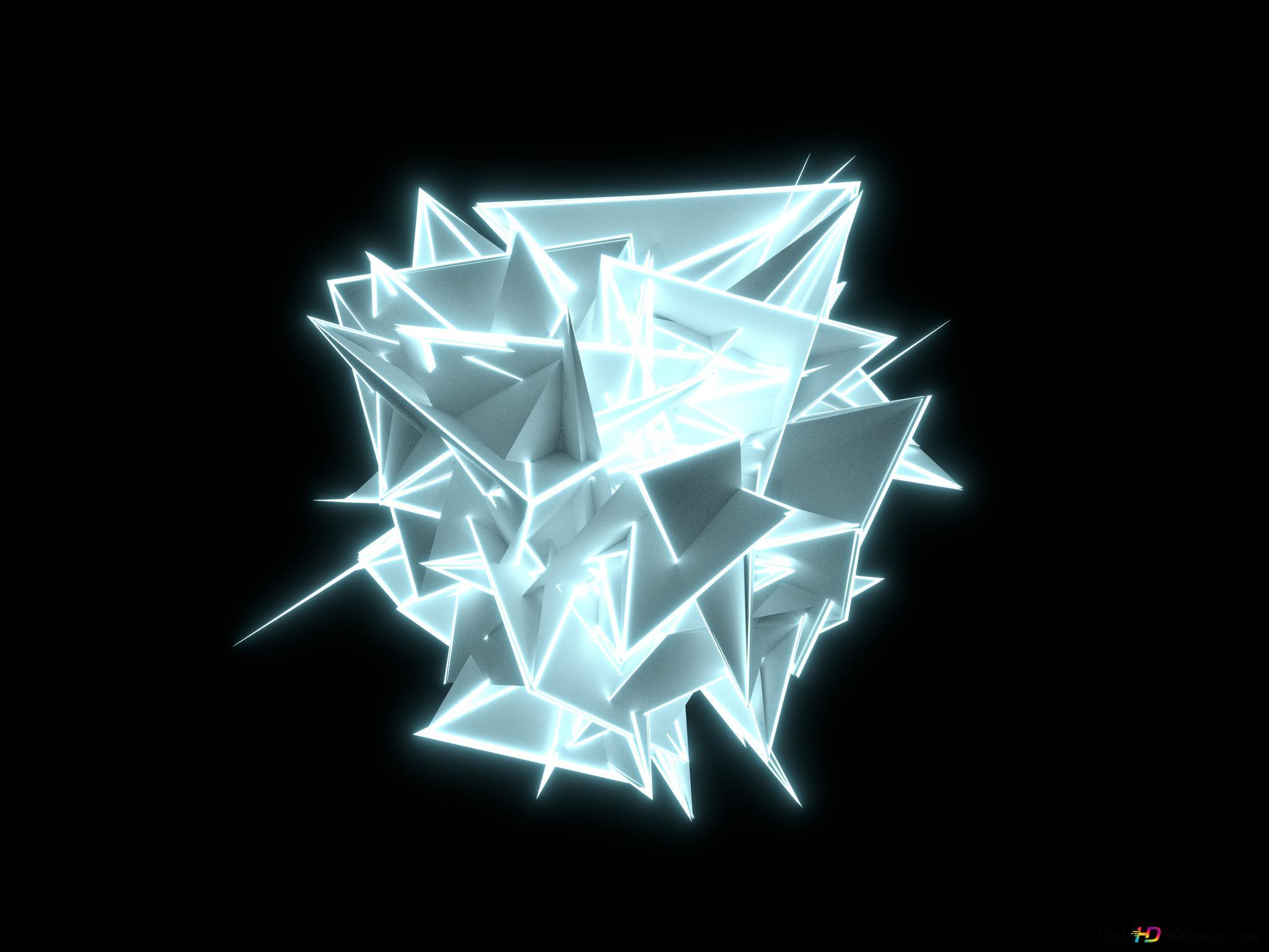 4D Cube HD wallpaper download
