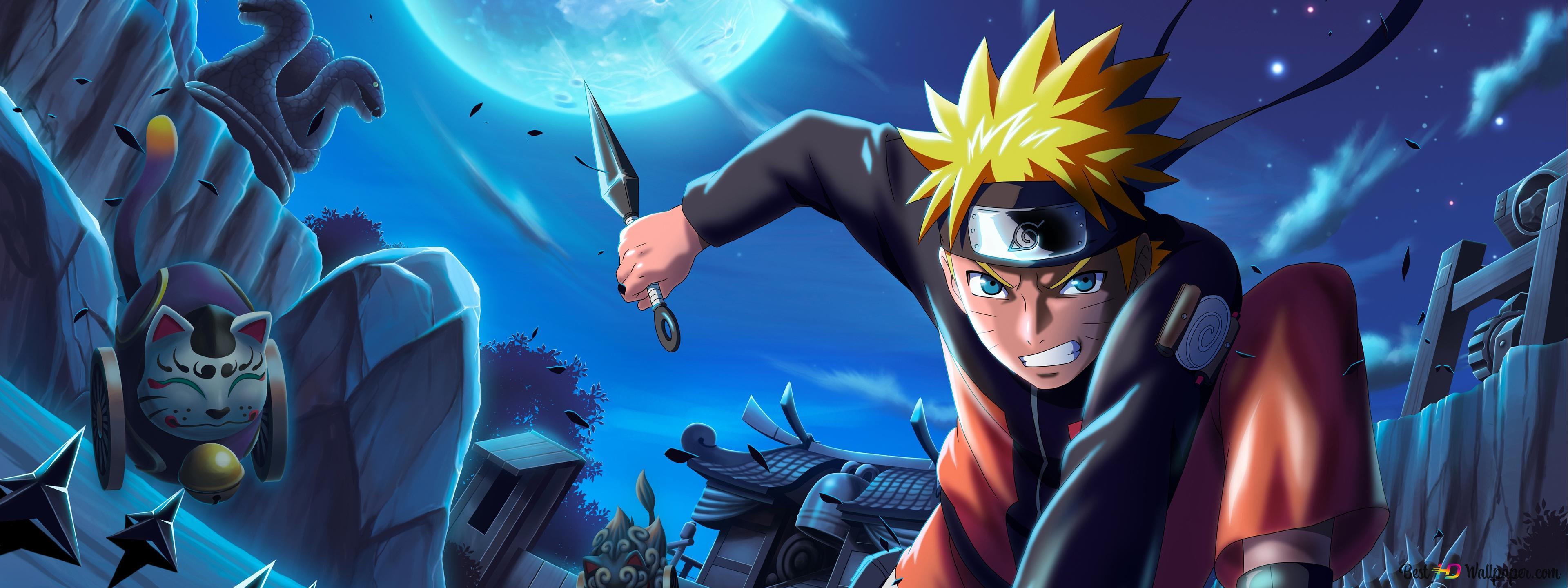 Descargar Fondo De Pantalla 4k Naruto Uzumaki Hd