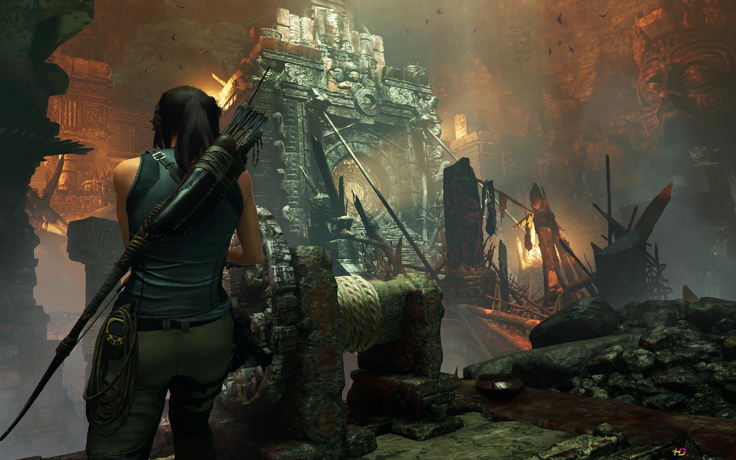 Lara Croft HD Wallpaper Download