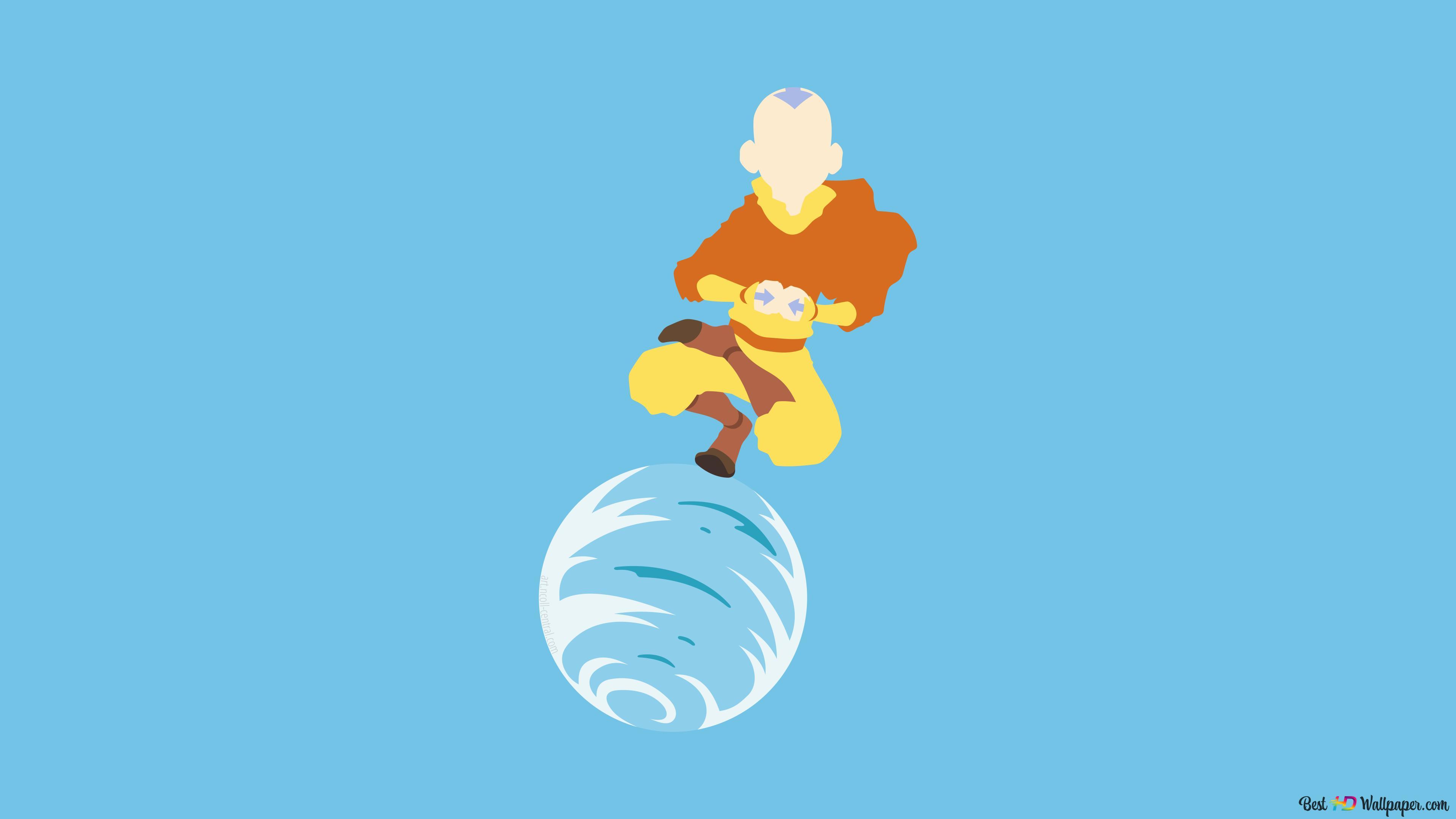 Aang Of Avatar The Last Airbender Hd Wallpaper Download