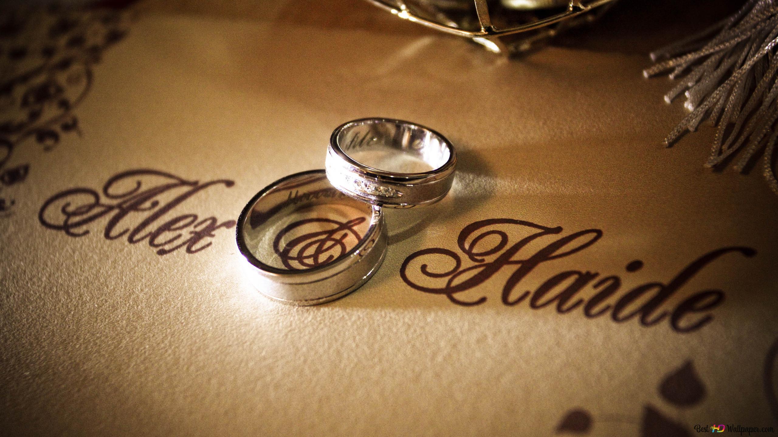 愛の指輪 hd壁紙のダウンロード