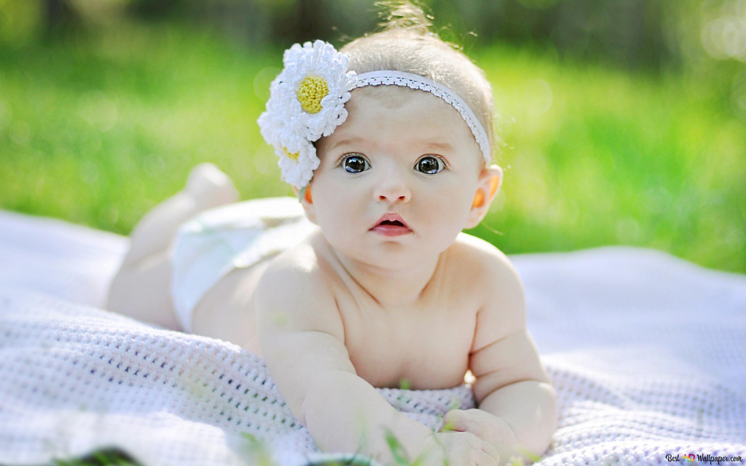 愛らしい女の赤ちゃん Hd壁紙のダウンロード