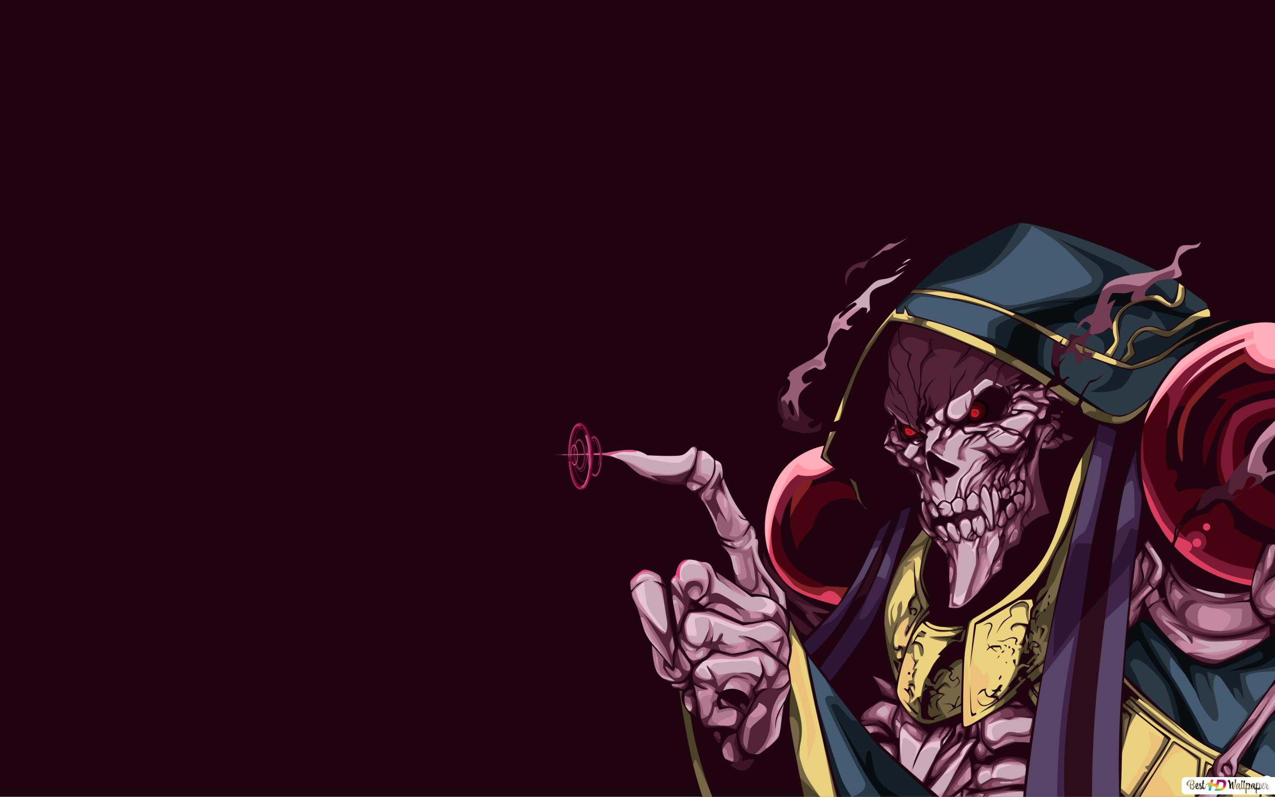Ainz Ooal Gown Of Overlord Hd Wallpaper Download