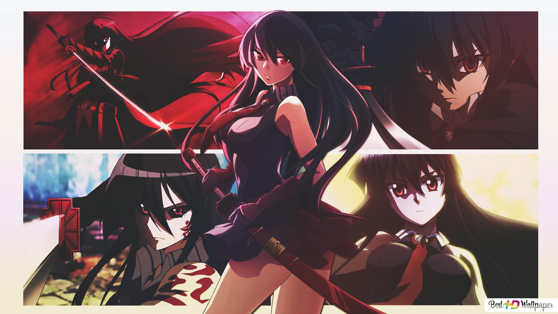 Akame Ga Kill Akame Hd Wallpaper Download