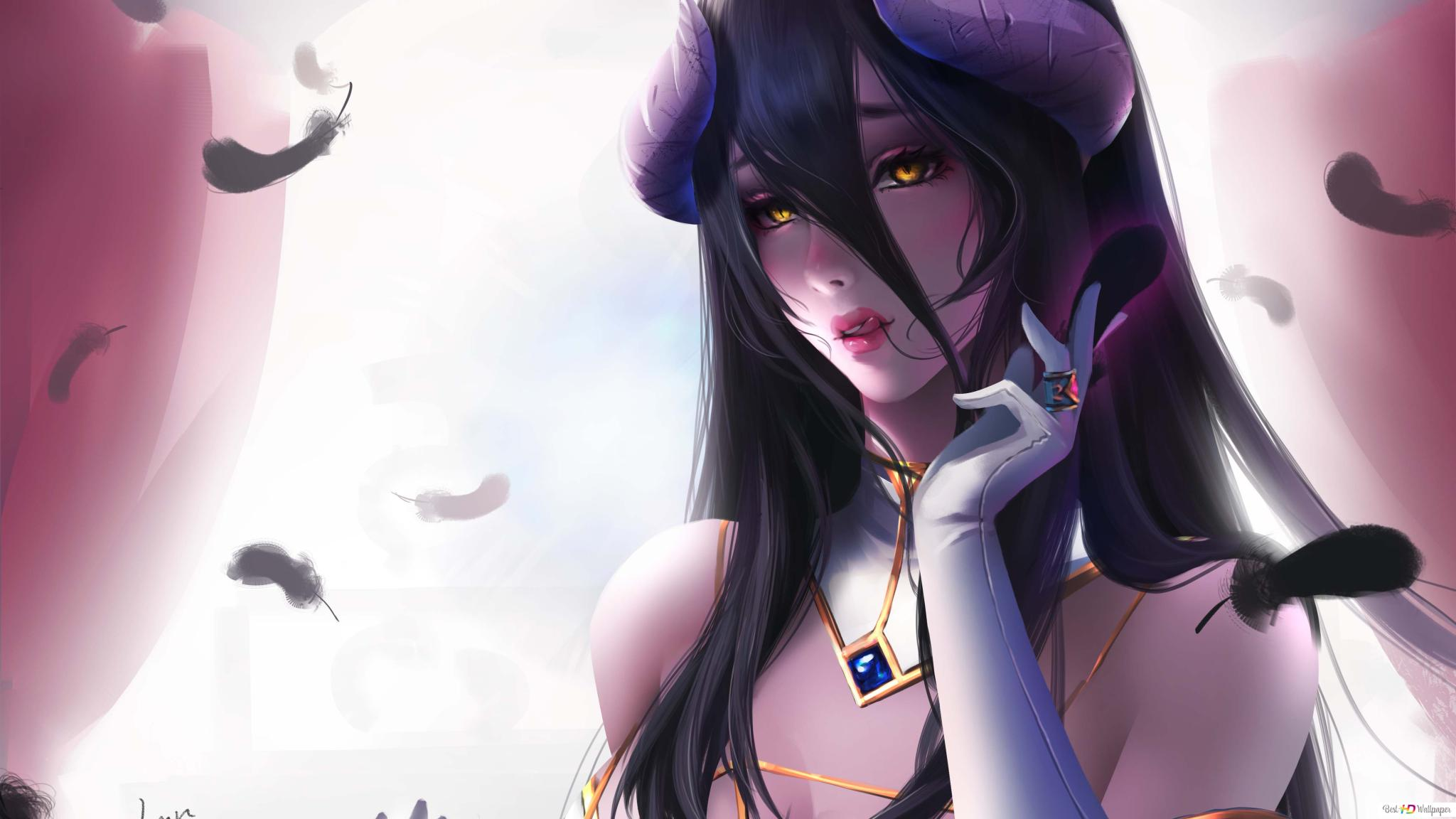 Albedo Floor Guardian Hd Wallpaper Download