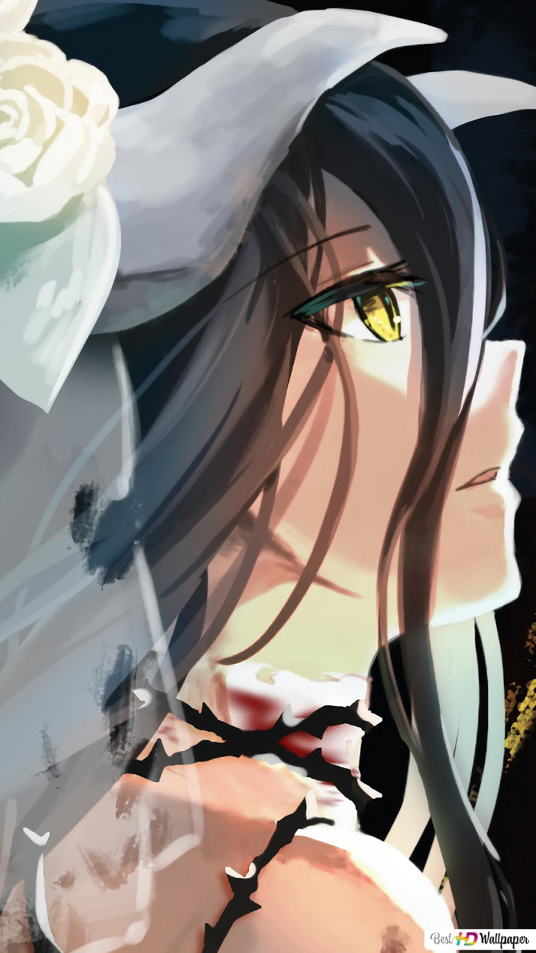 Albedo Of Overlord Hd Wallpaper Download
