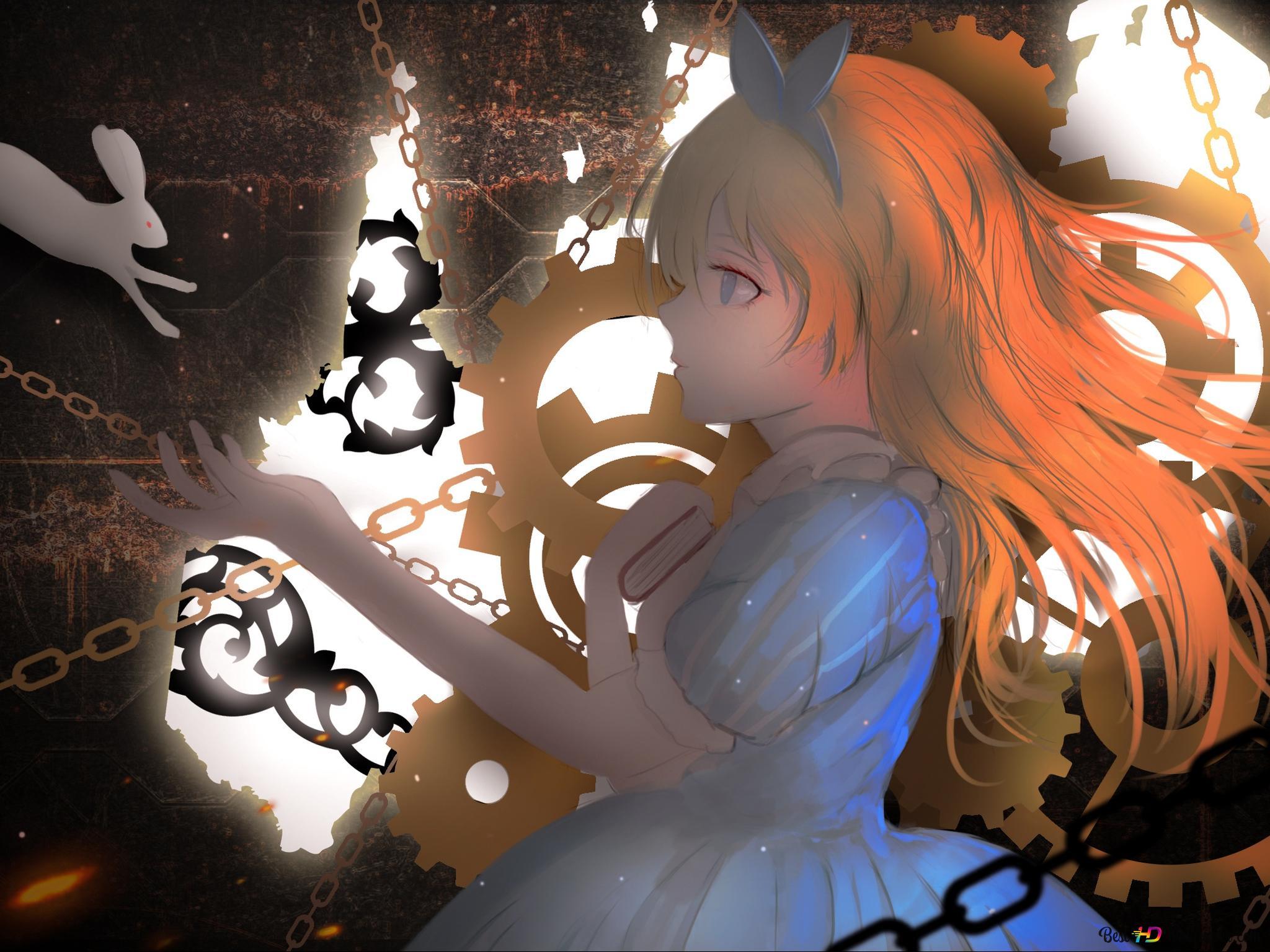 Alice Au Pays Des Merveilles Alice Hd Fond Décran Télécharger