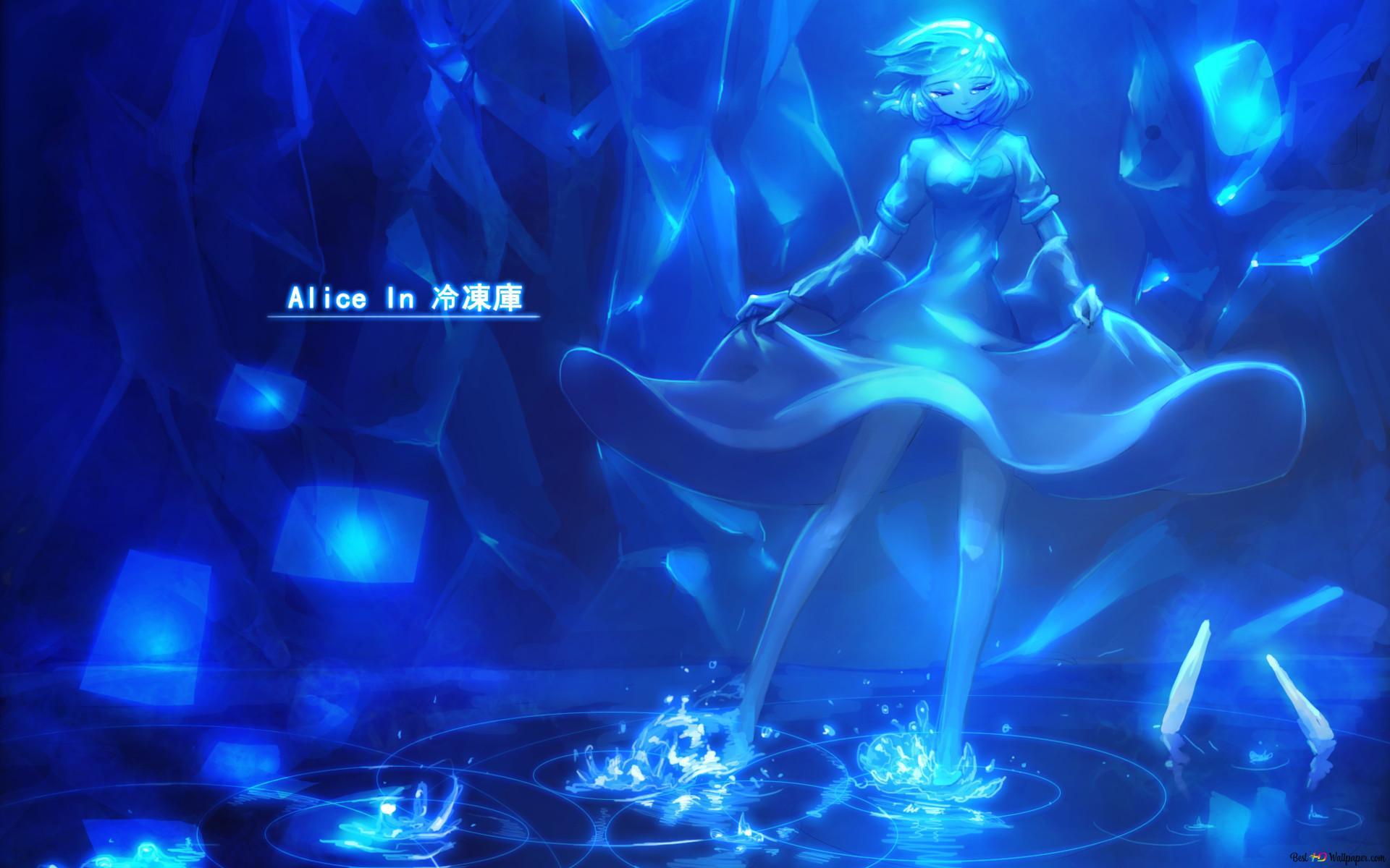 Alice in koelkast hd wallpaper downloaden