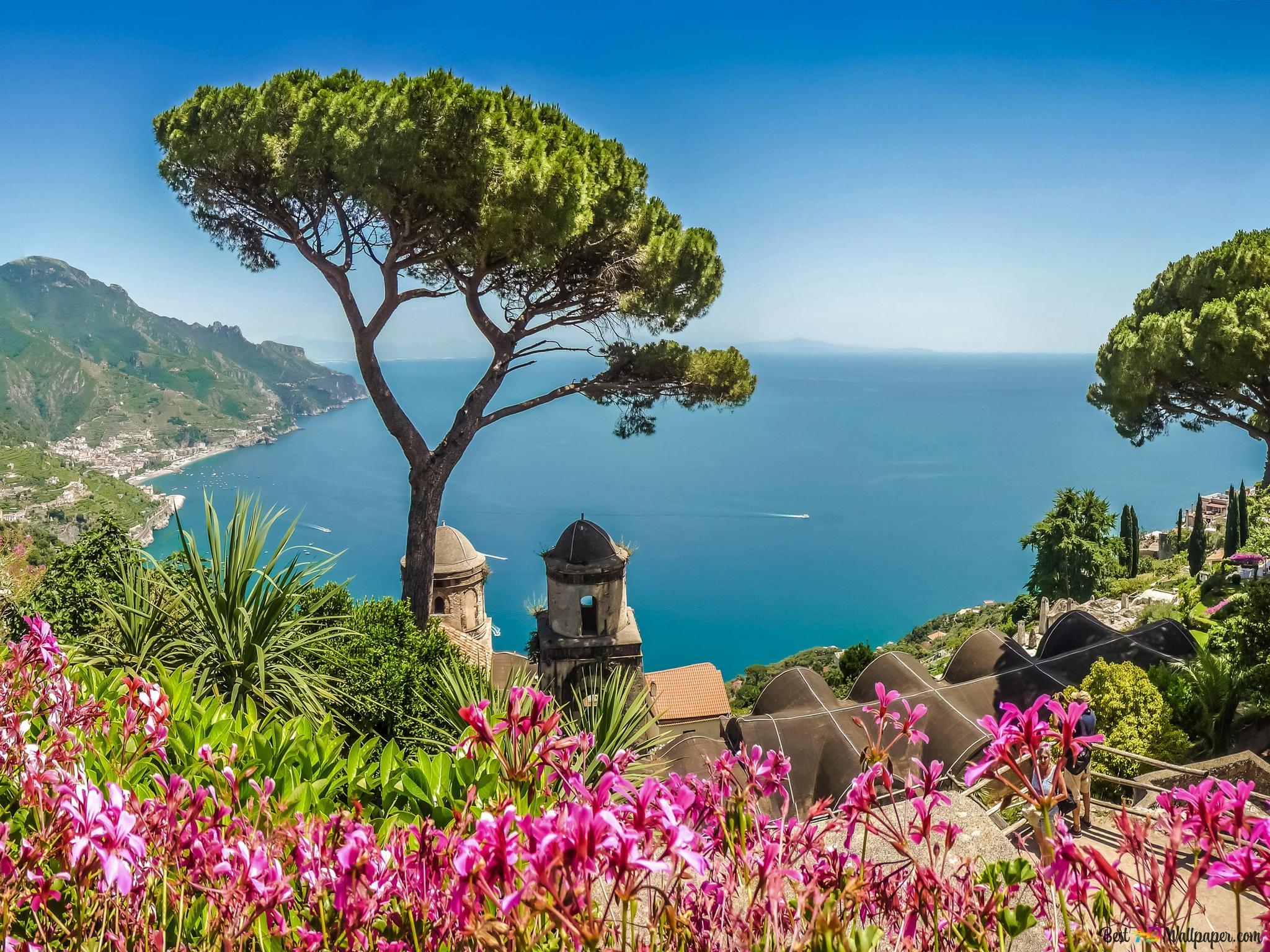 Amalfi Coastline Italy Hd Wallpaper Download