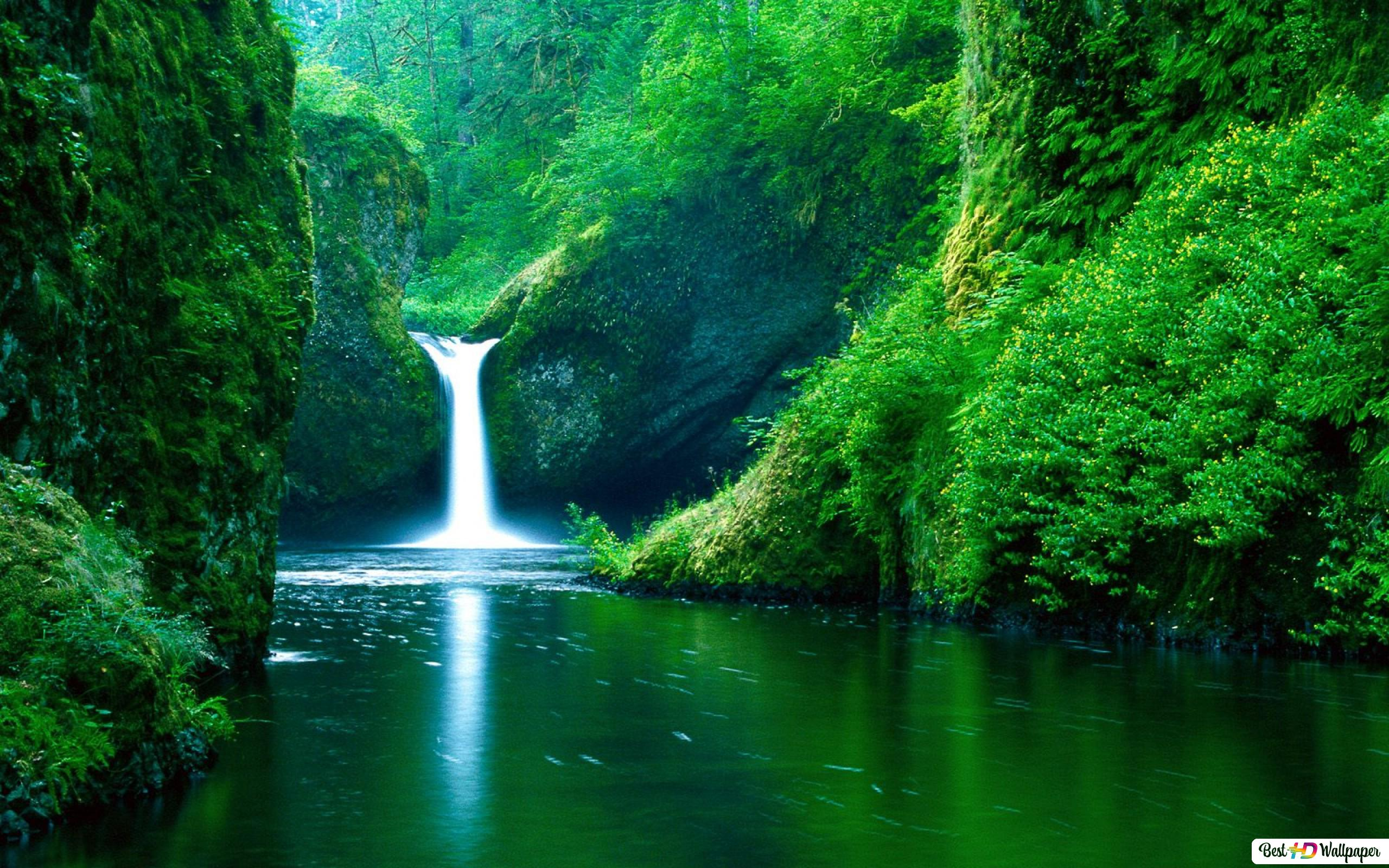 Amazing Waterfall HD Wallpaper Download