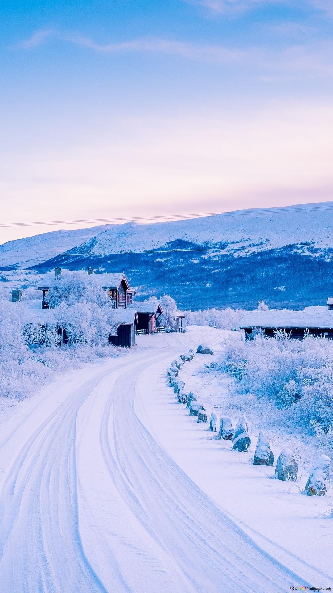 アメージング冬の風景ビュー Hd壁紙のダウンロード