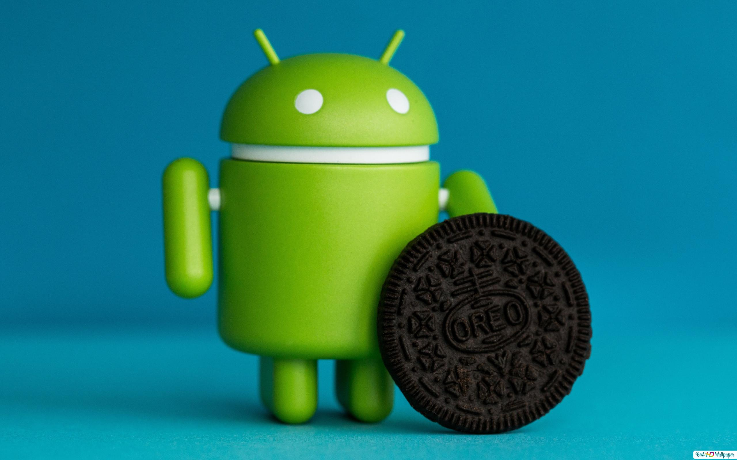 Android Oreo - version 8 software HD wallpaper download