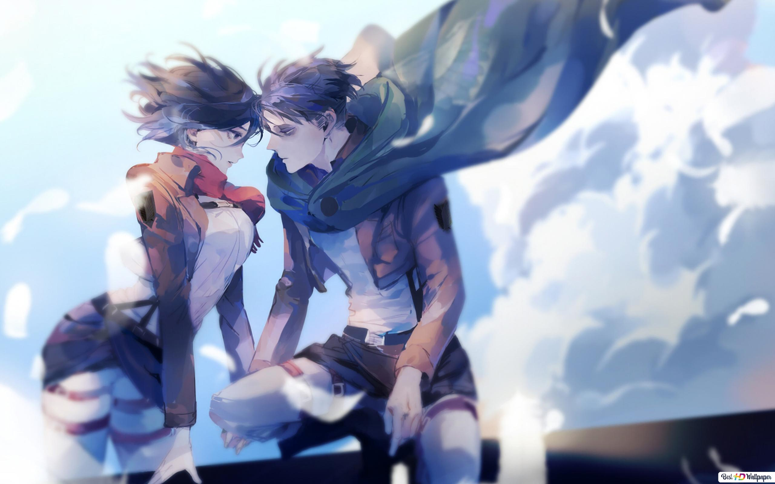 Anime Attaque Titan Hd Fond D Ecran Telecharger