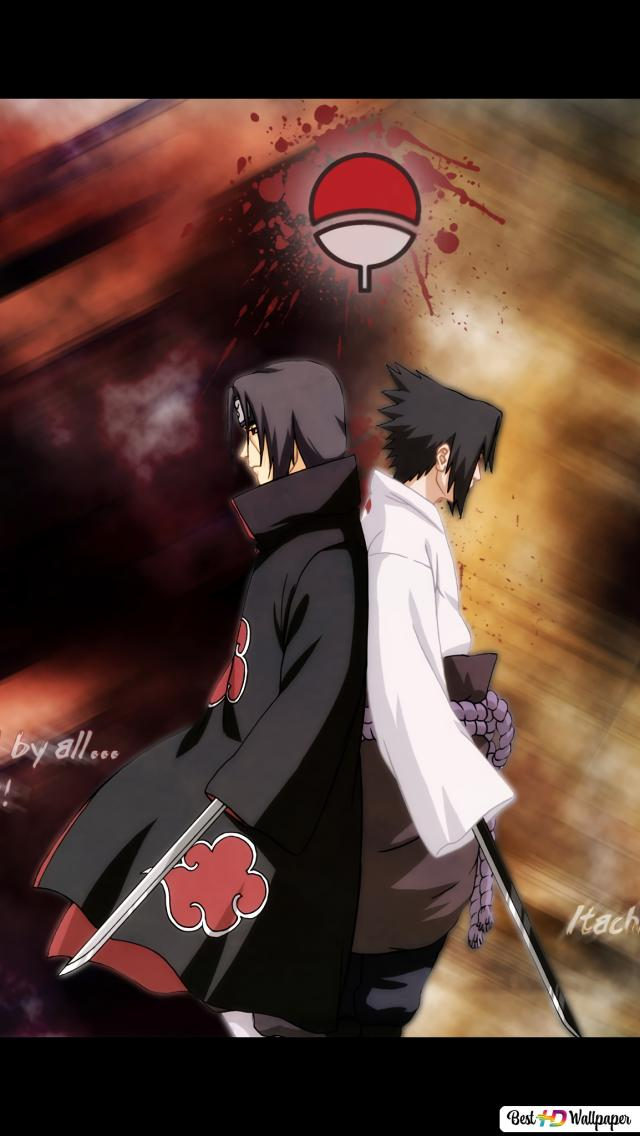 Anime Naruto Sasuke Itachi Hd Hintergrundbilder Herunterladen