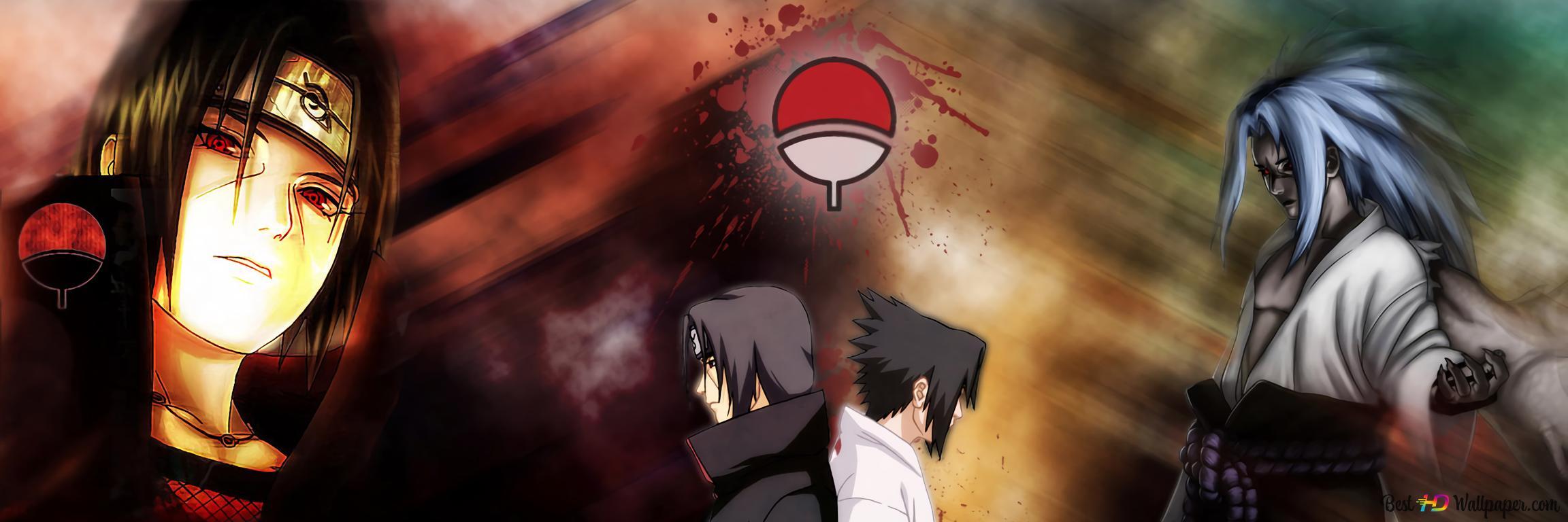 Anime Naruto Sasuke Itachi Hd Wallpaper Download
