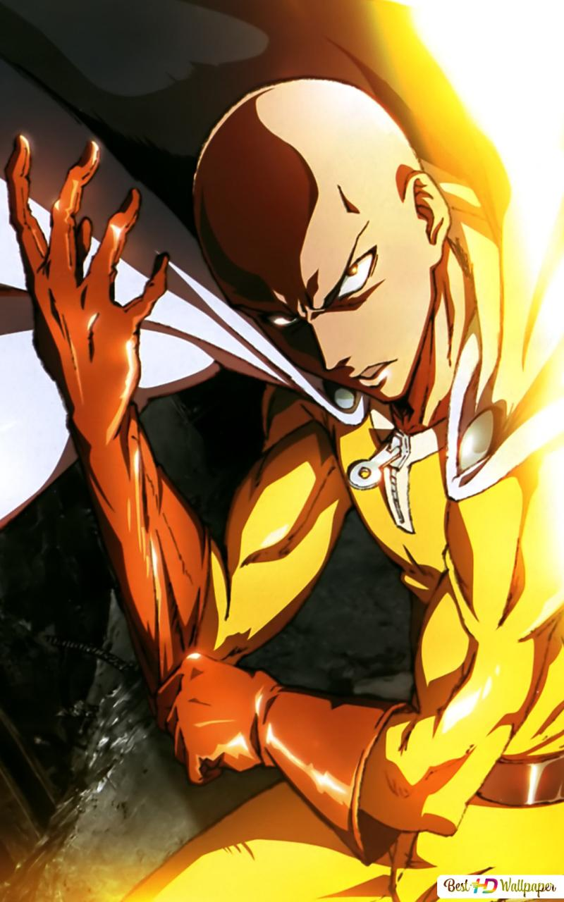 Anime One Punch Man Hd Wallpaper Download