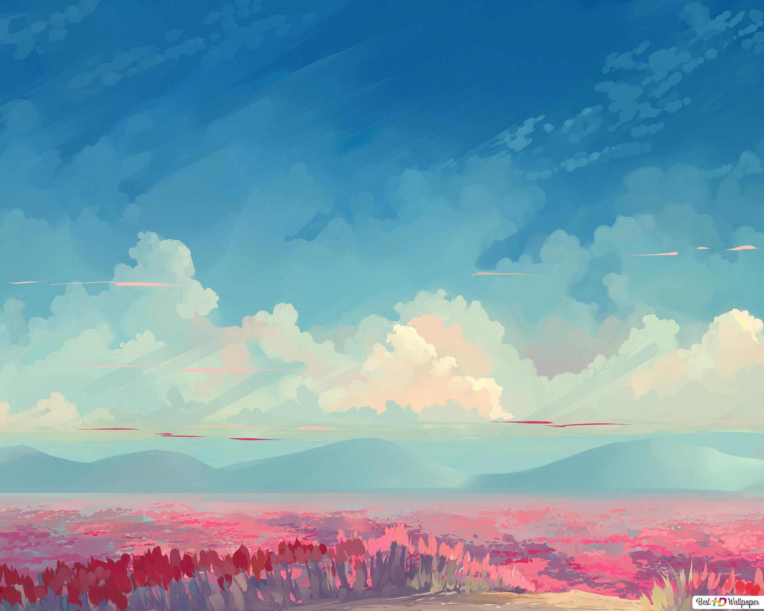 Anime Rosso Foresta Download Di Sfondi Hd
