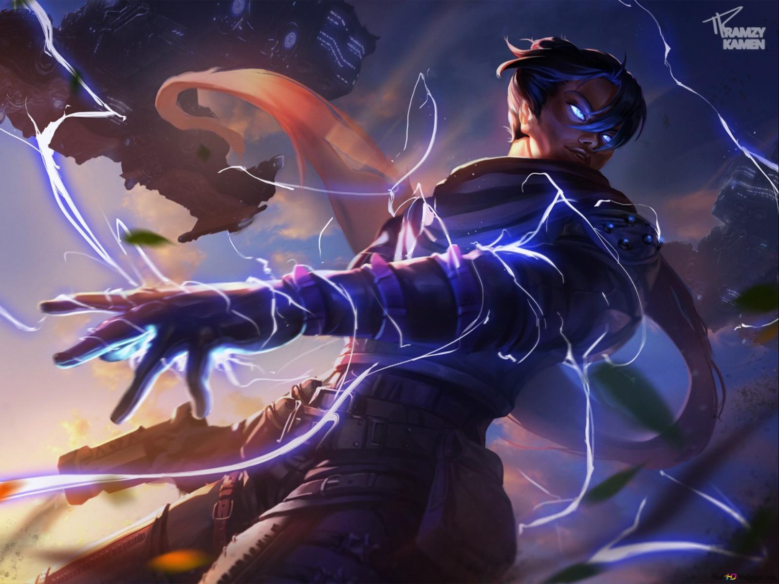 Apex Legends - Wraith Hd Tapet Download-6359