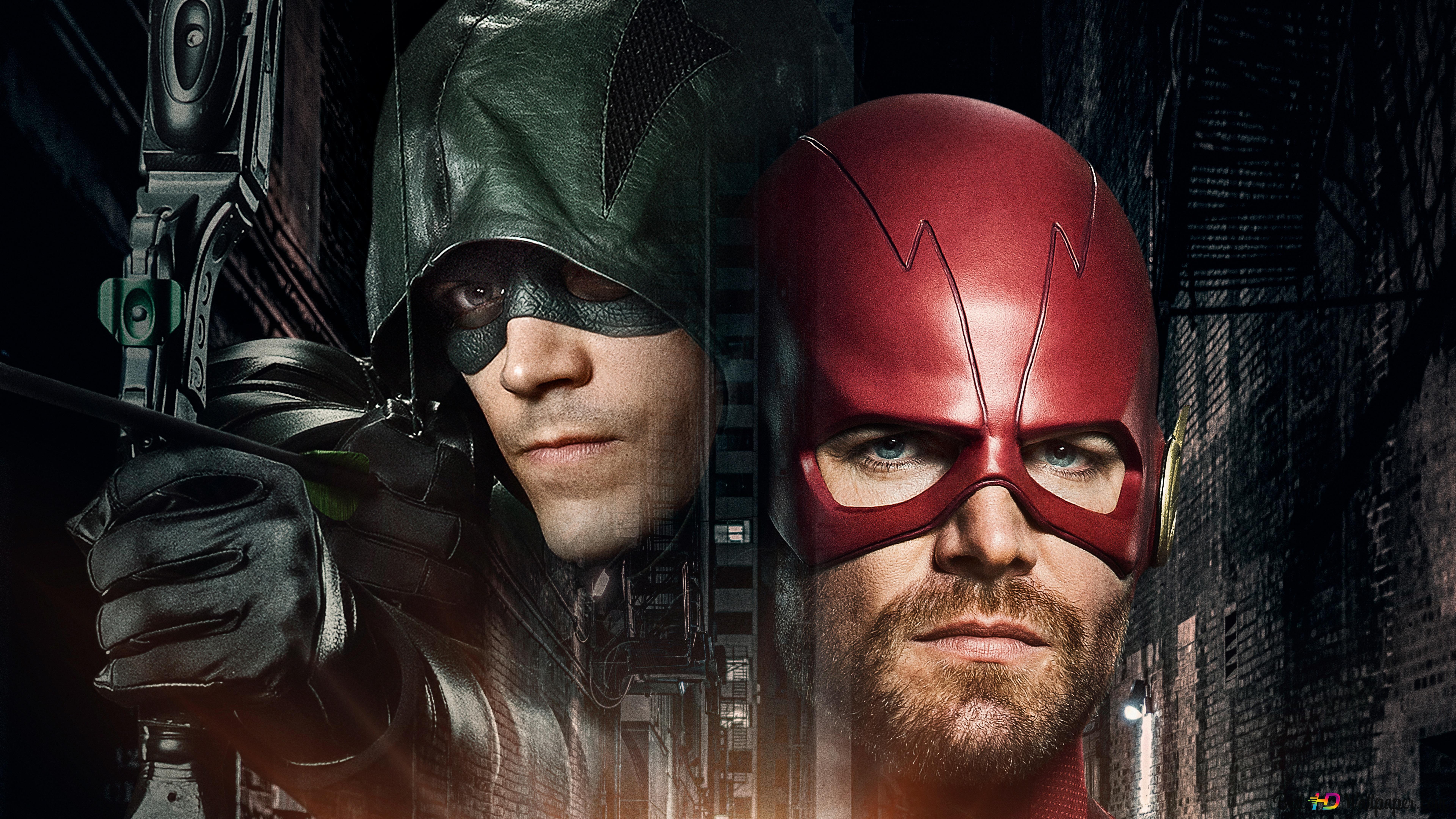 Arrow Flash Crossover Hd Wallpaper Download