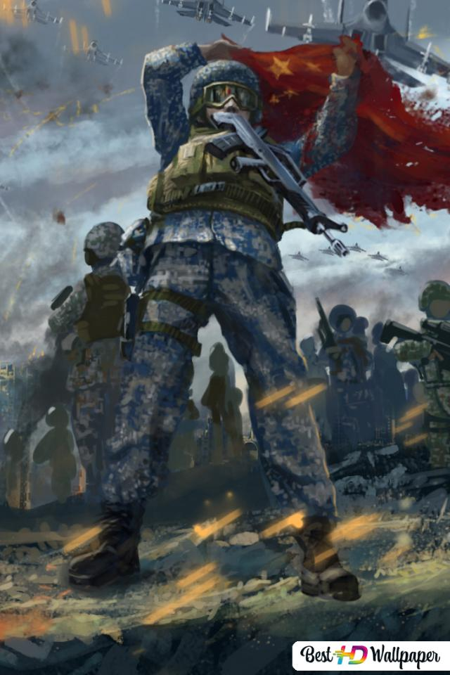 Artistic Army Battle Hd Wallpaper Download