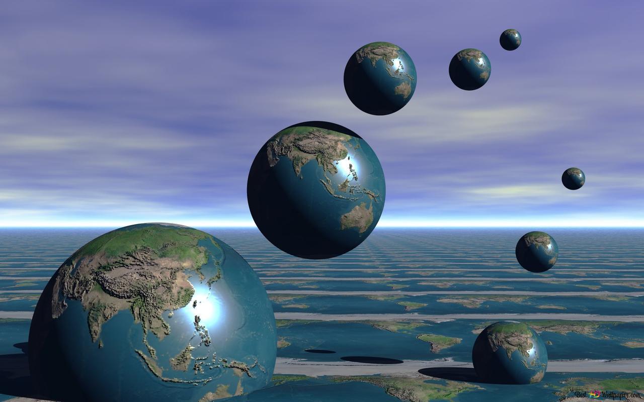 artistic earth 3d wallpaper 1280x800 6861 3