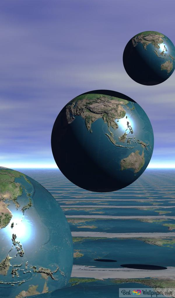 artistic earth 3d wallpaper 600x1024 6861 205