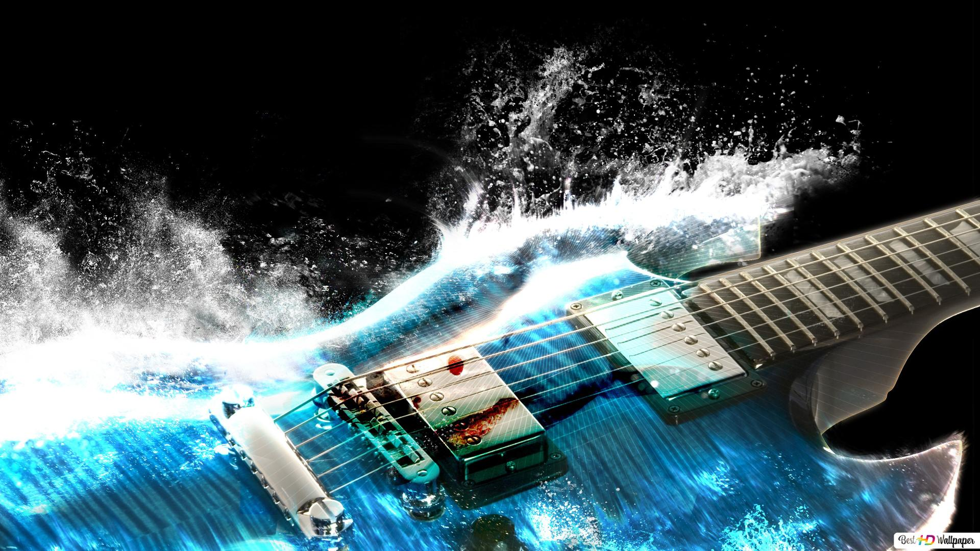 Artistic Guitar Hd Wallpaper Download