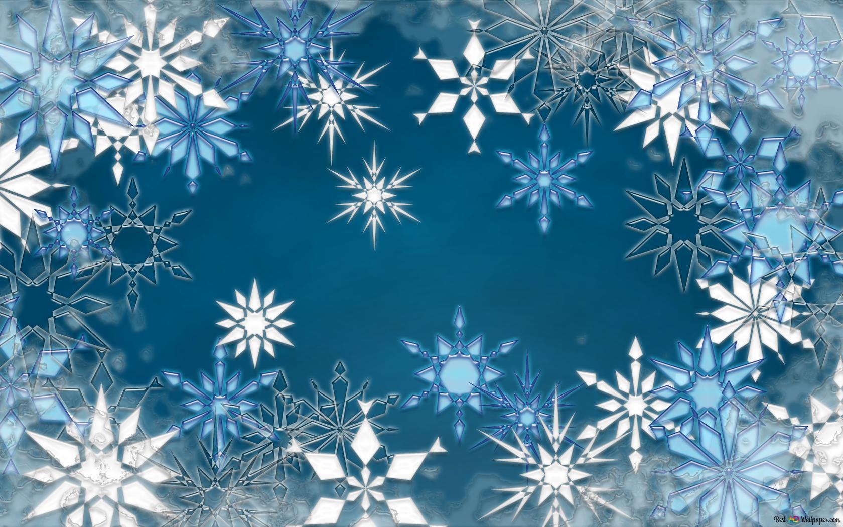 Artistic - Schneeflocken HD Hintergrundbilder herunterladen