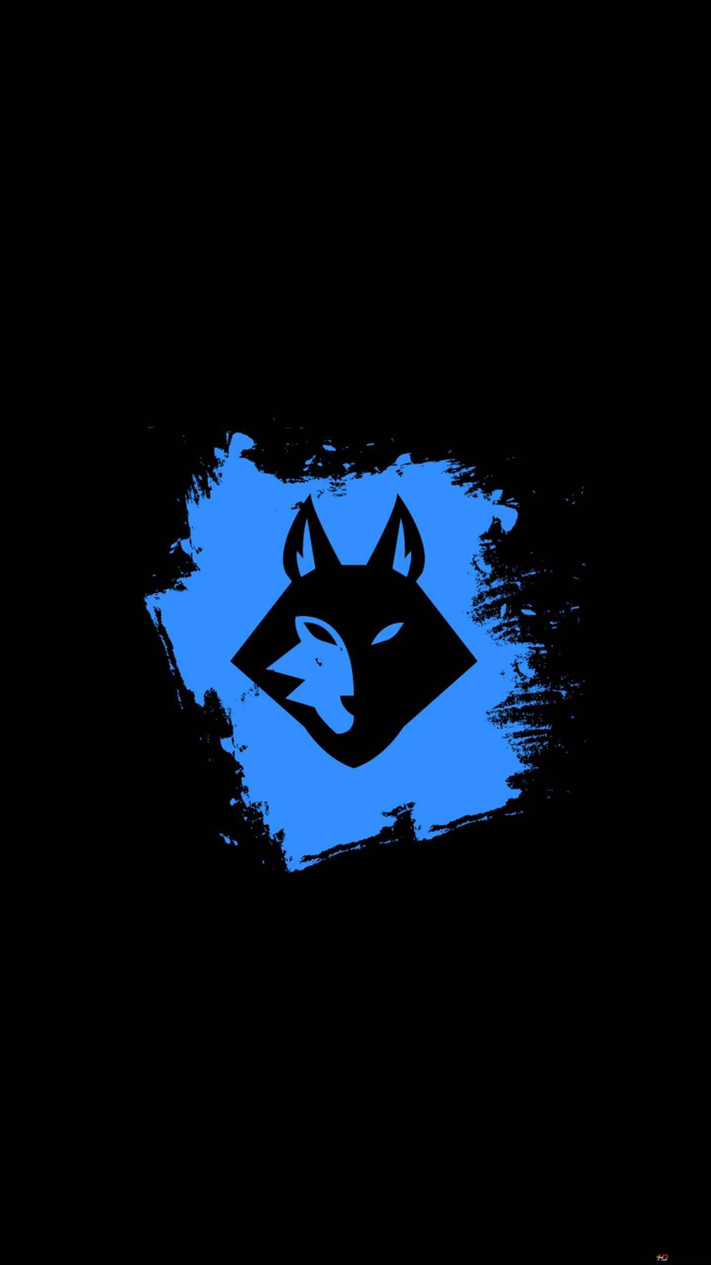アルファオオカミグランジロゴ Hd壁紙のダウンロード
