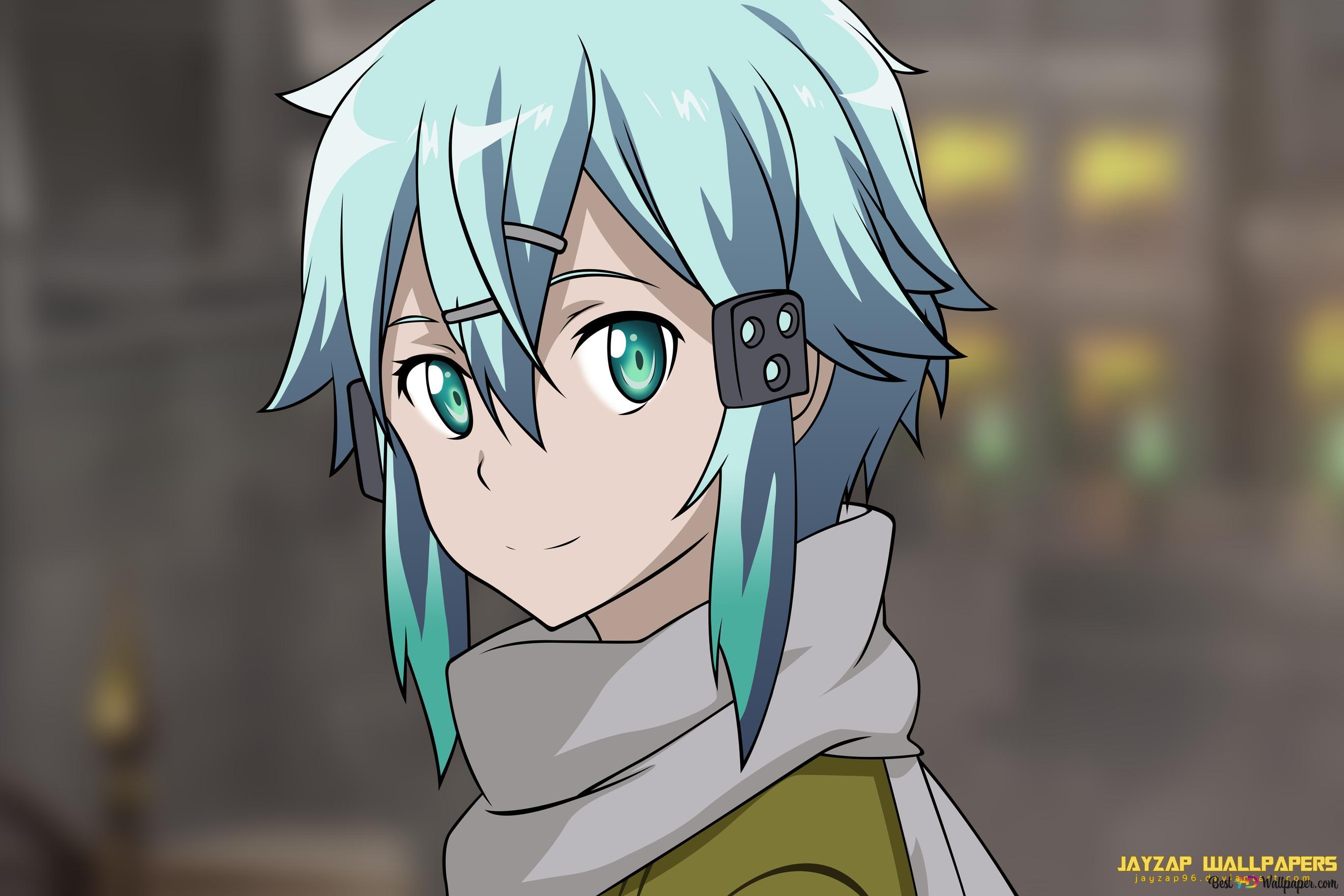 Asada Shino of Sword Art Online HD wallpaper download
