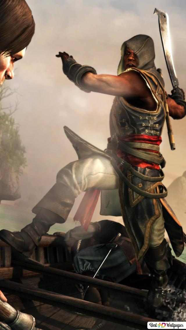 Assassin Creed Iv Black Flag Unduhan Wallpaper Hd