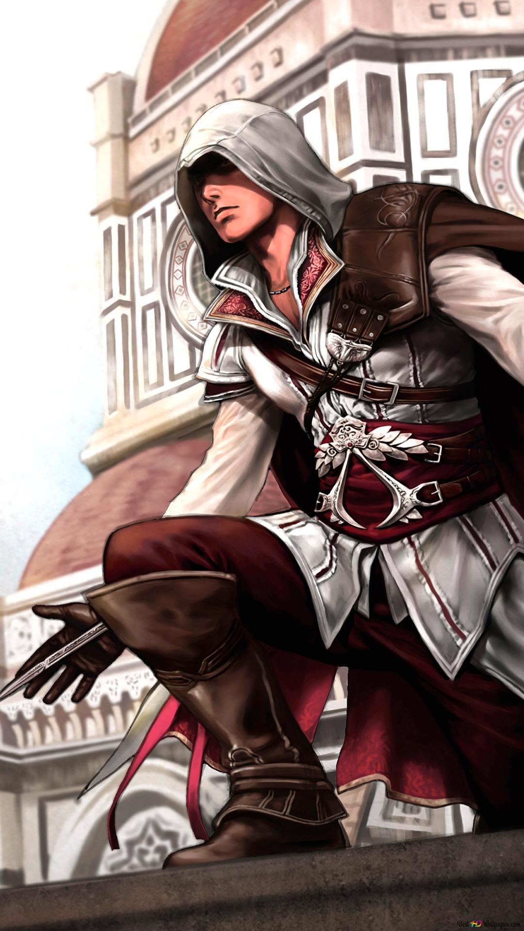 Assassin S Creed 2 Ninja Painting Hd Wallpaper Download