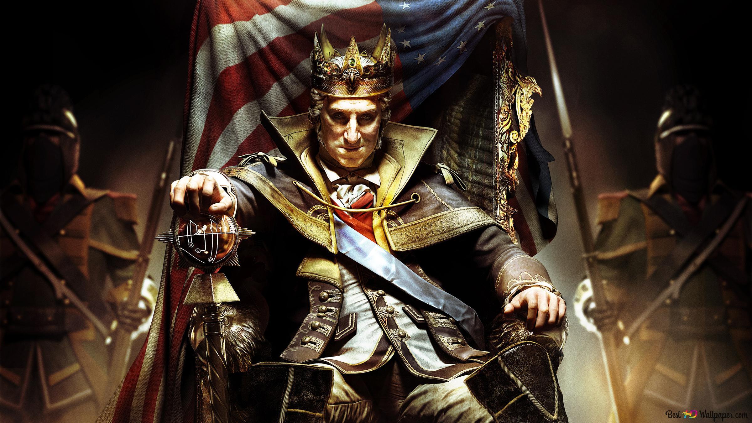 Assassin S Creed 3 King Washington Hd Wallpaper Download