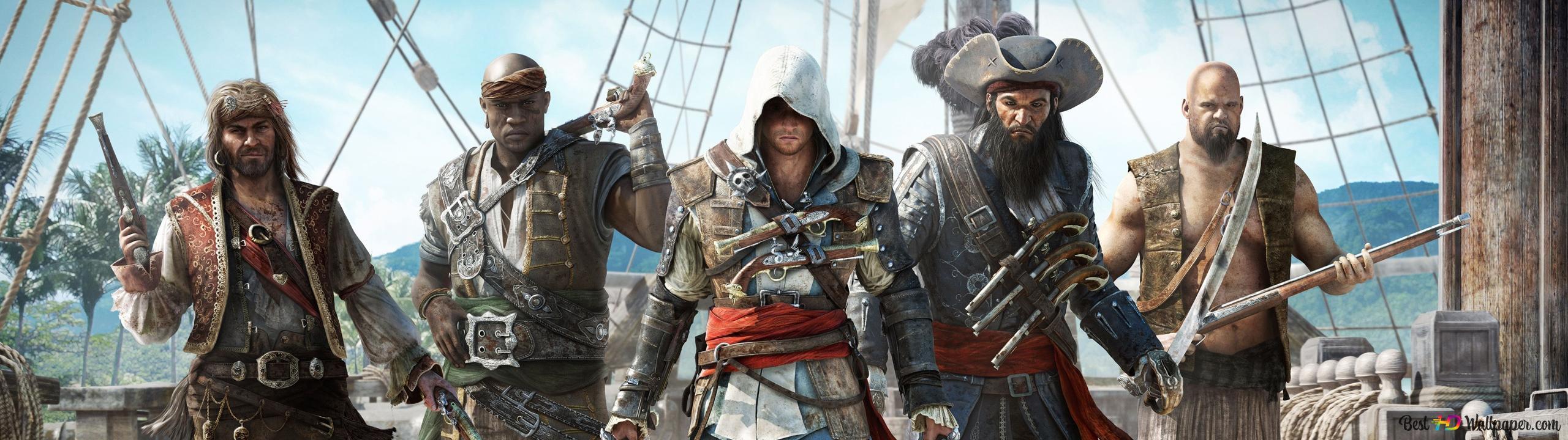 Assassin S Creed Iv Black Flag Hd Wallpaper Download