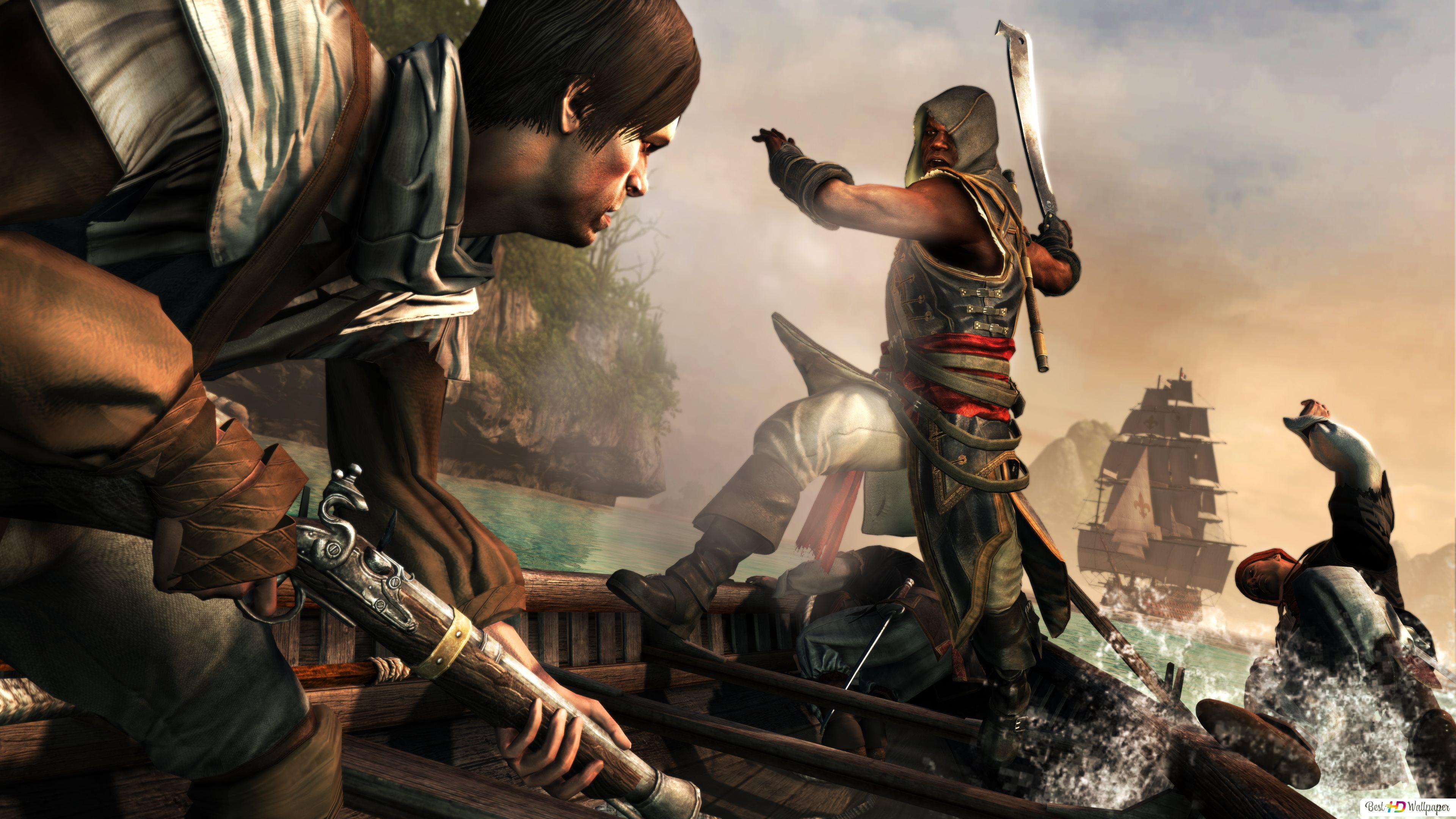 Assassin S Creed Iv Black Flag Hd Wallpaper Download