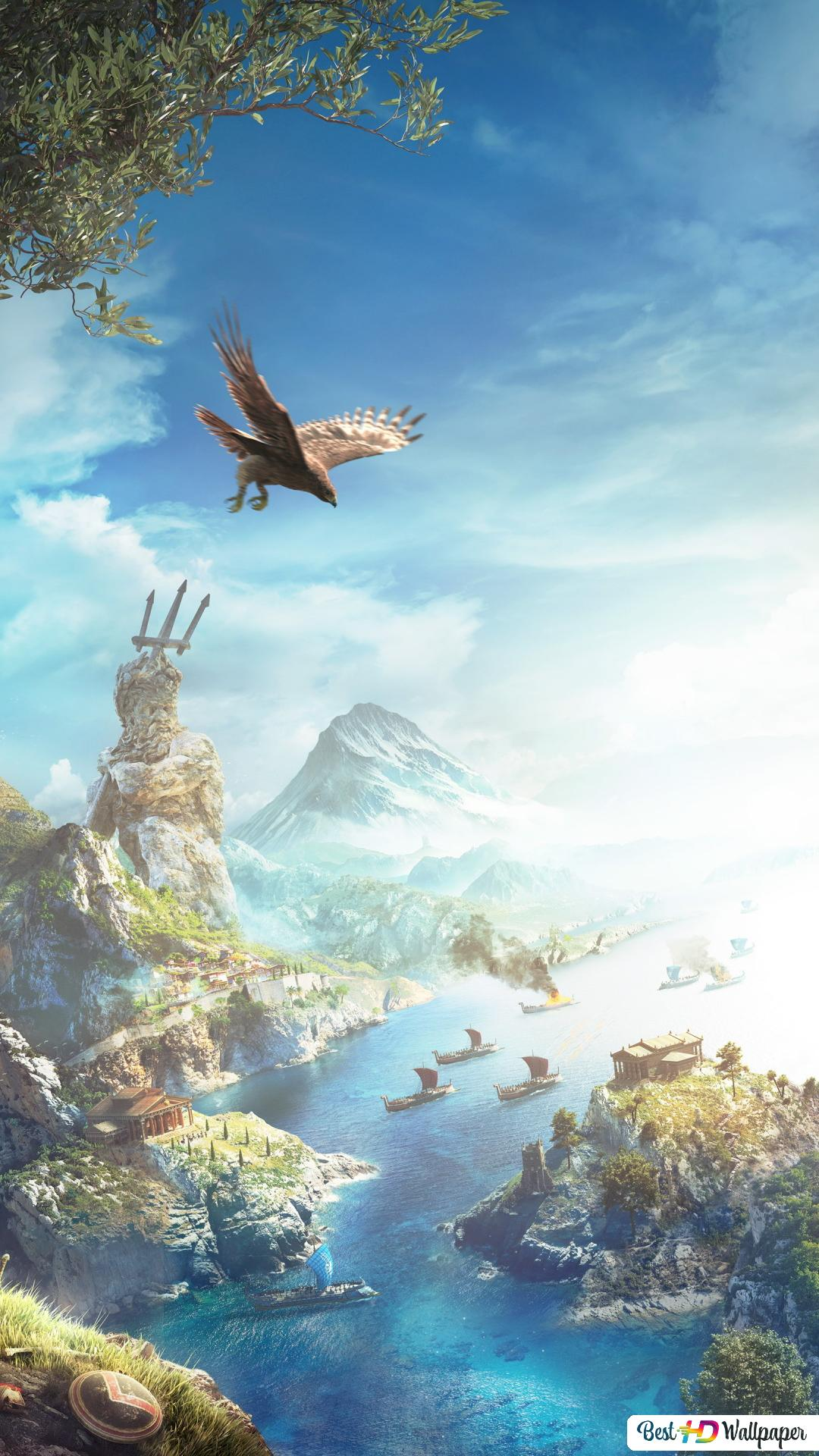 Assassin S Creed Odyssey Rocky Hills Hd Wallpaper Download