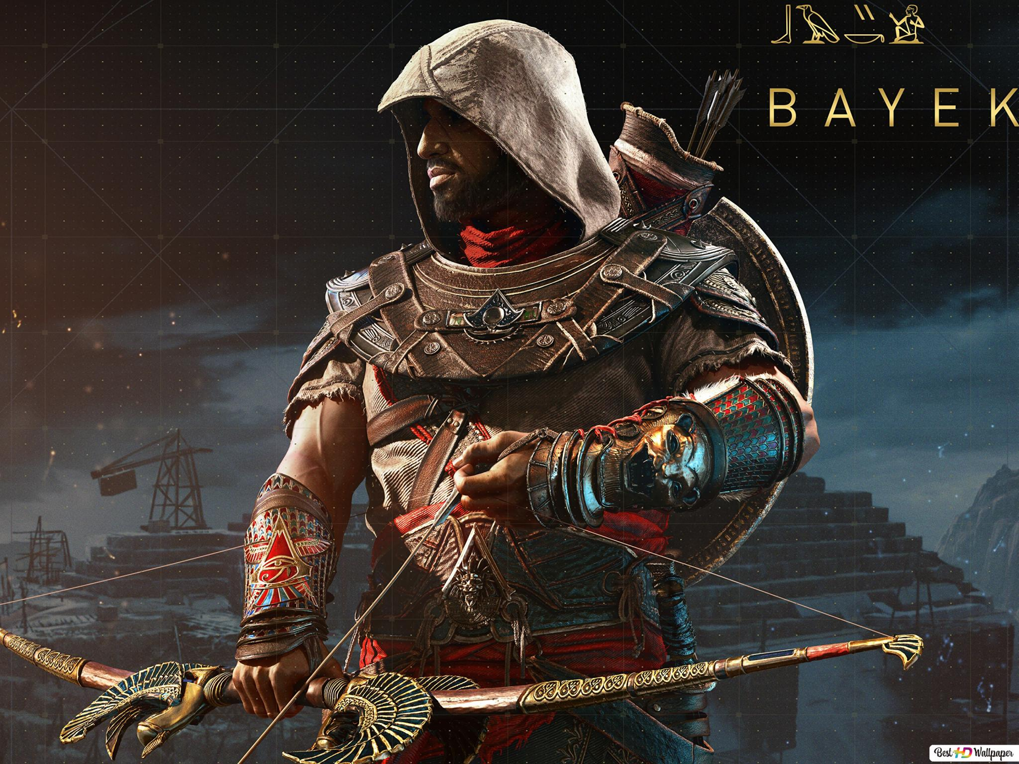 Assassin S Creed Origins Bayek Hd Wallpaper Download