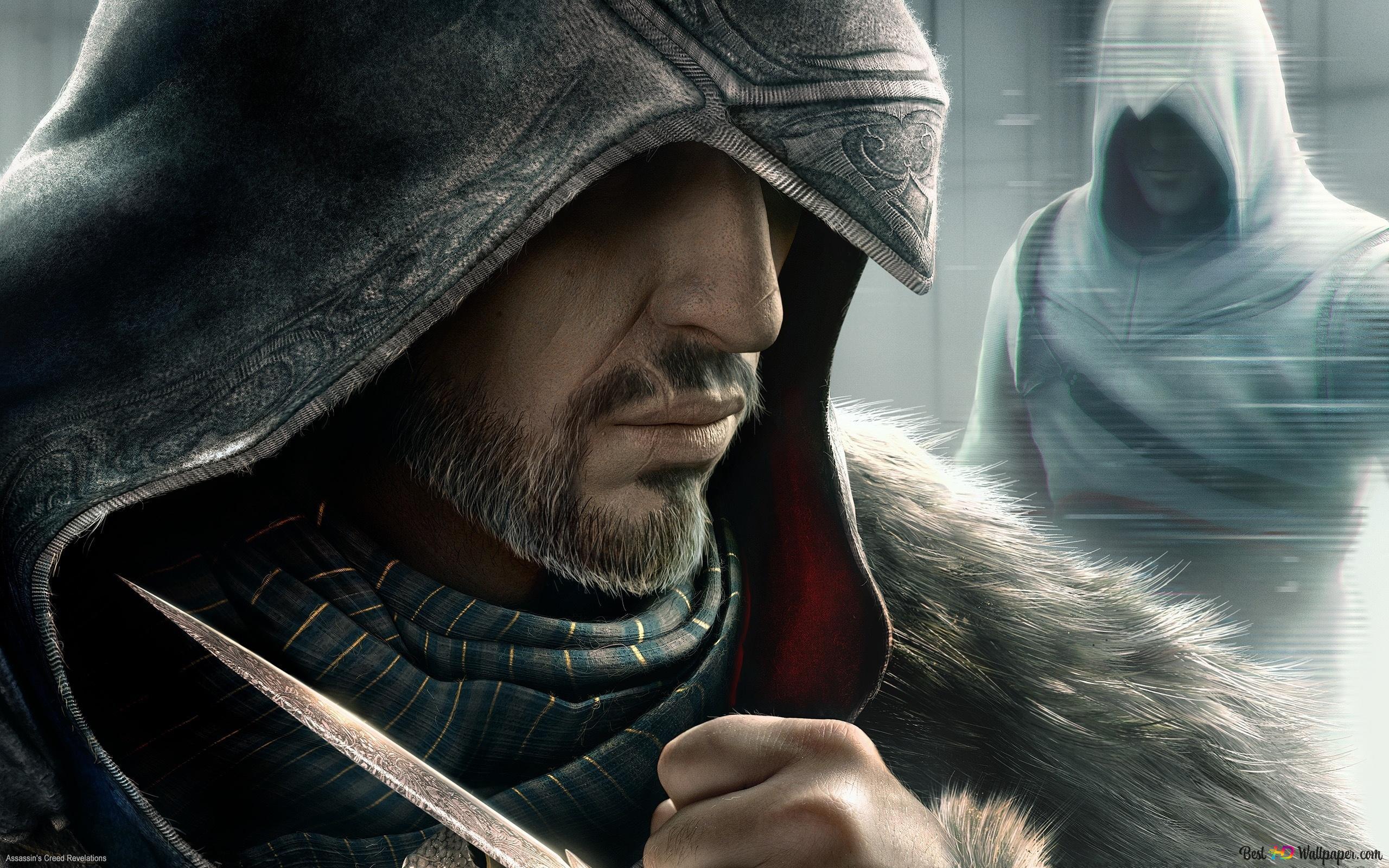 Assassin S Creed Revelations Altair Vs Ezio Hd Wallpaper Download