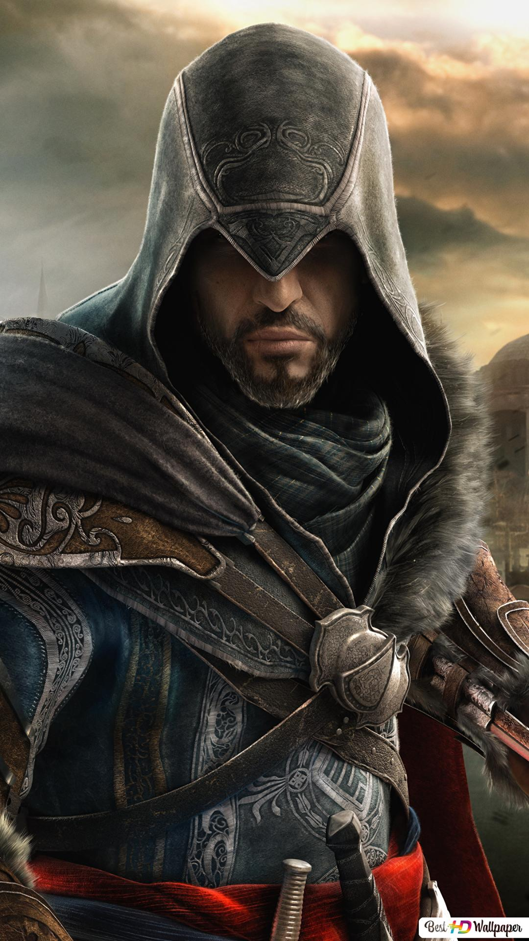 Assassin S Creed Revelations Ezio Vs Altair Hd Wallpaper Download