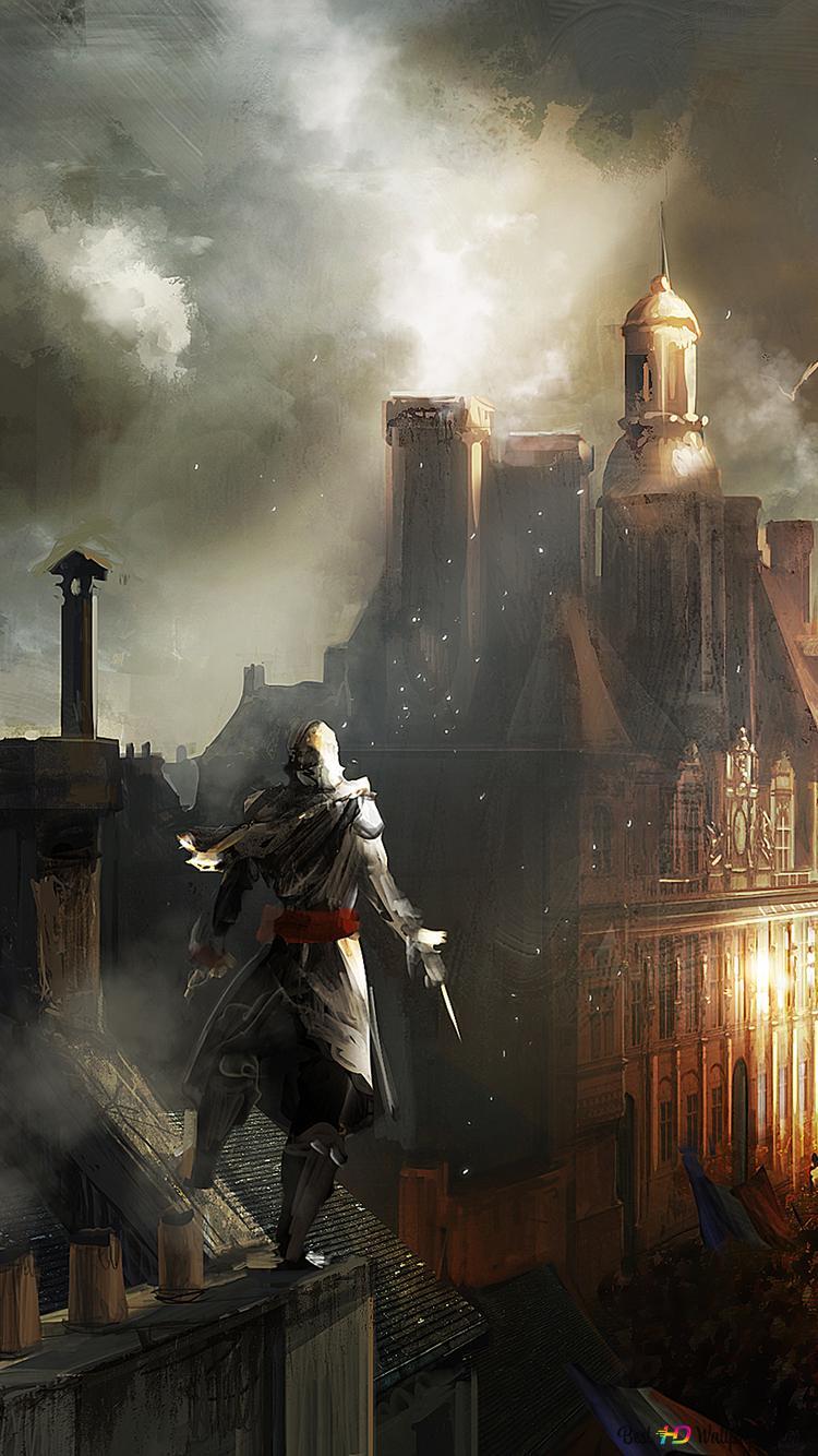 Assassin S Creed Unity Paris Buildings Hd Wallpaper Download