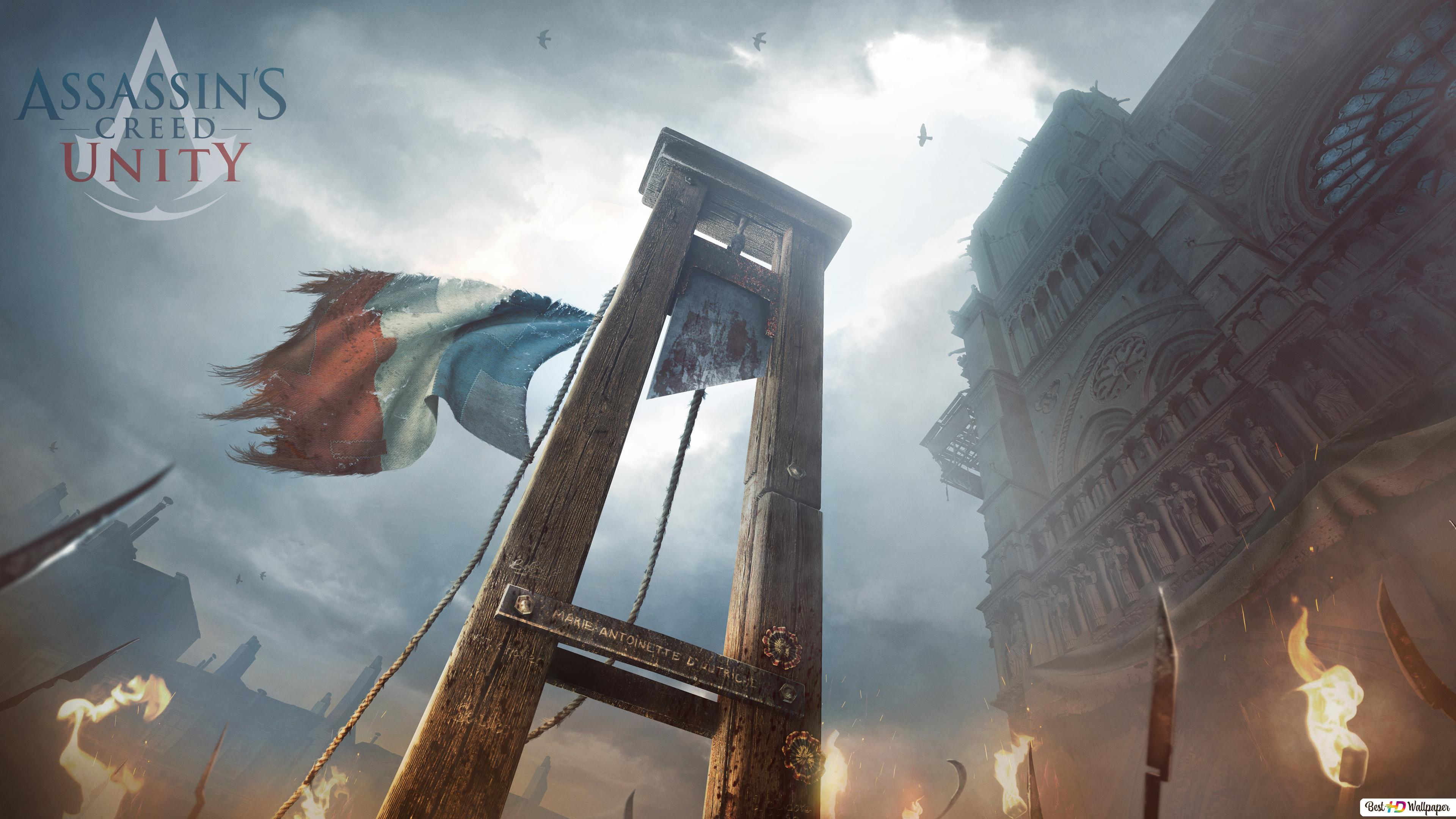 Assassin's Creed Unity HD wallpaper